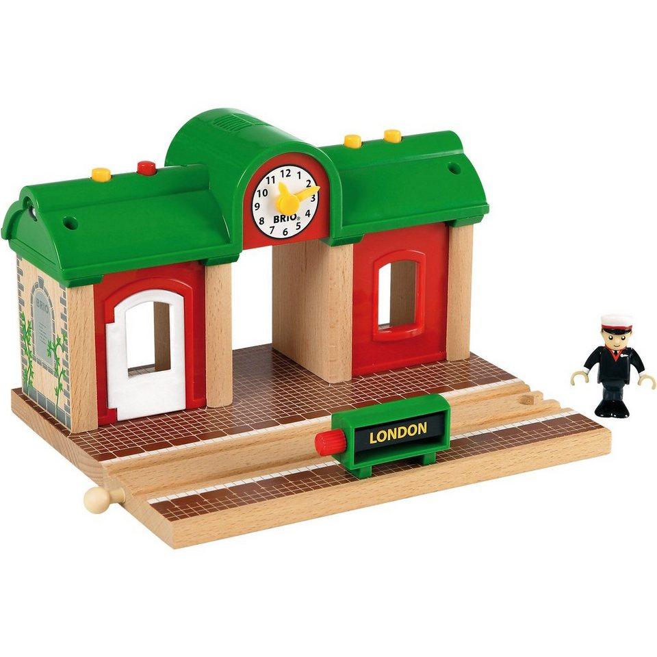 BRIO 33578 Sprechender Bahnhof