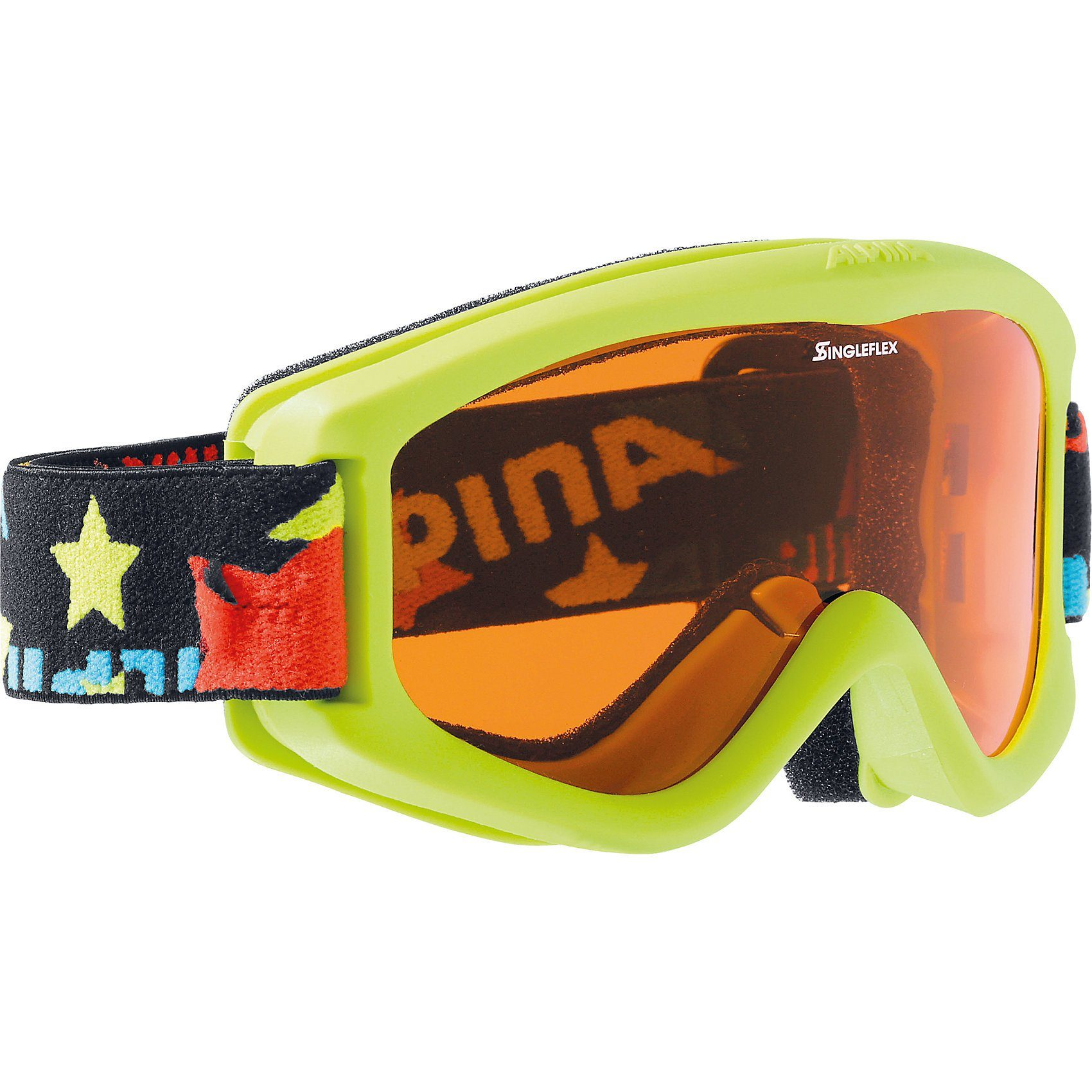 ALPINA Skibrille Carvy, lime