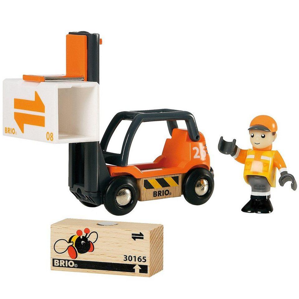 BRIO 33573 Gabelstapler