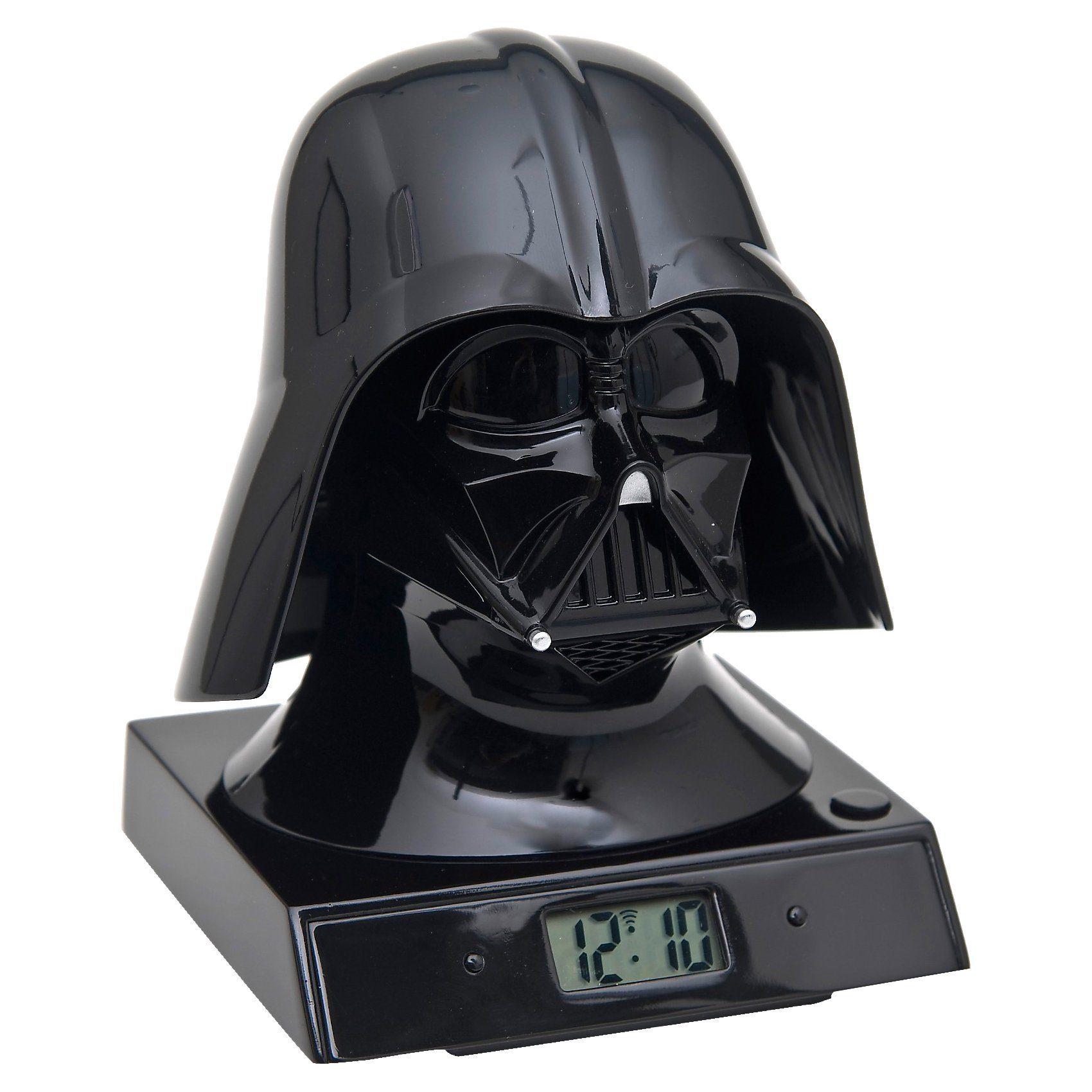 JOY TOY Star Wars Projektions-Wecker mit Sound, Darth Wader