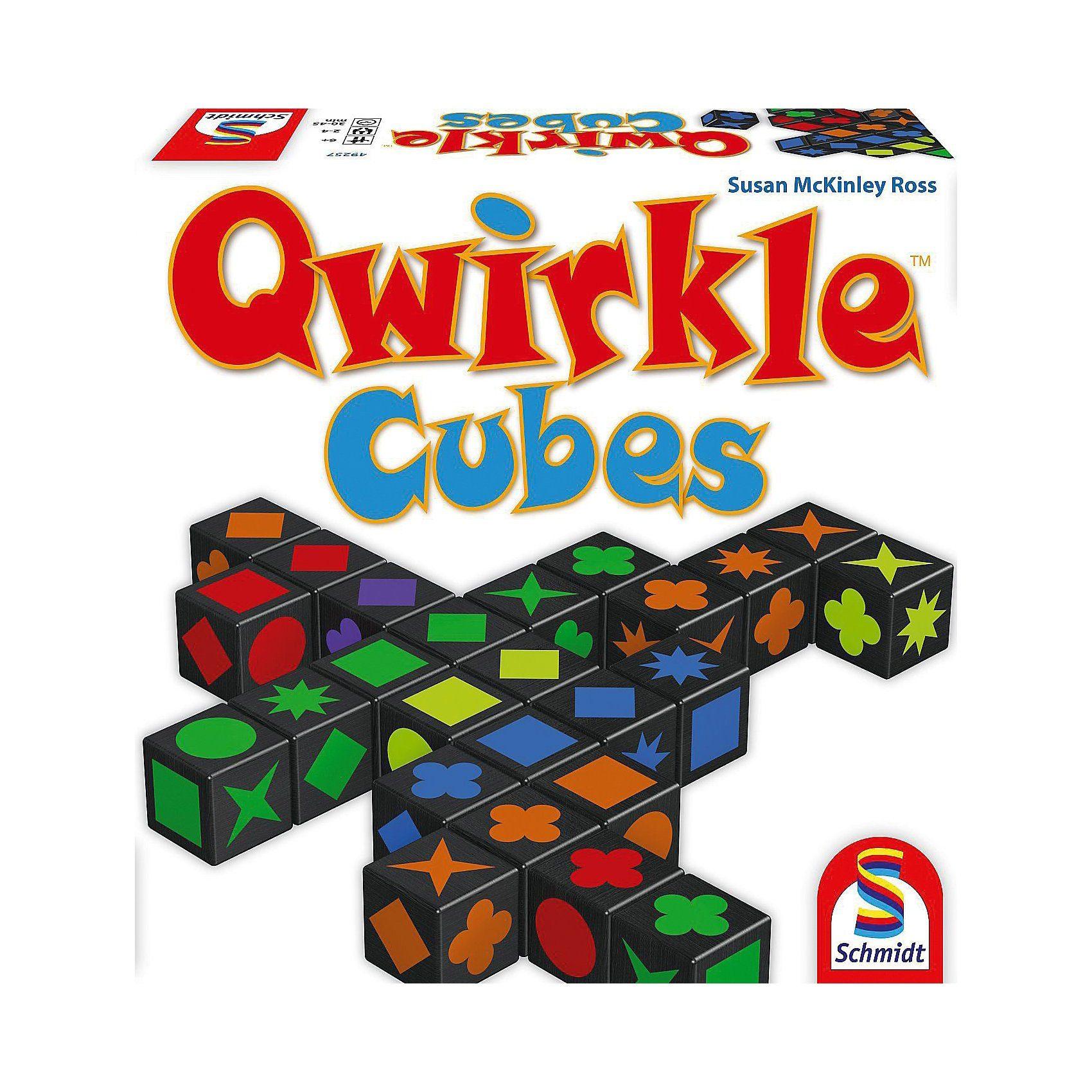 Schmidt Spiele Qwirkle Cubes