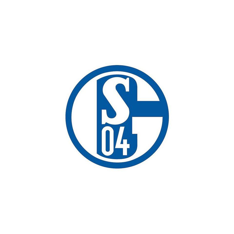 Wandsticker FC Schalke 04, Logo in blau