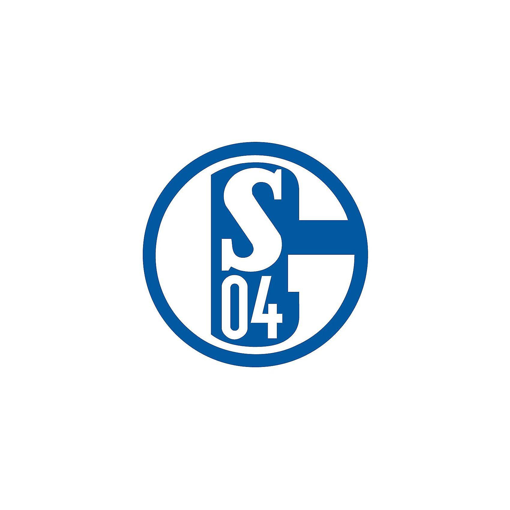 Wandsticker FC Schalke 04, Logo