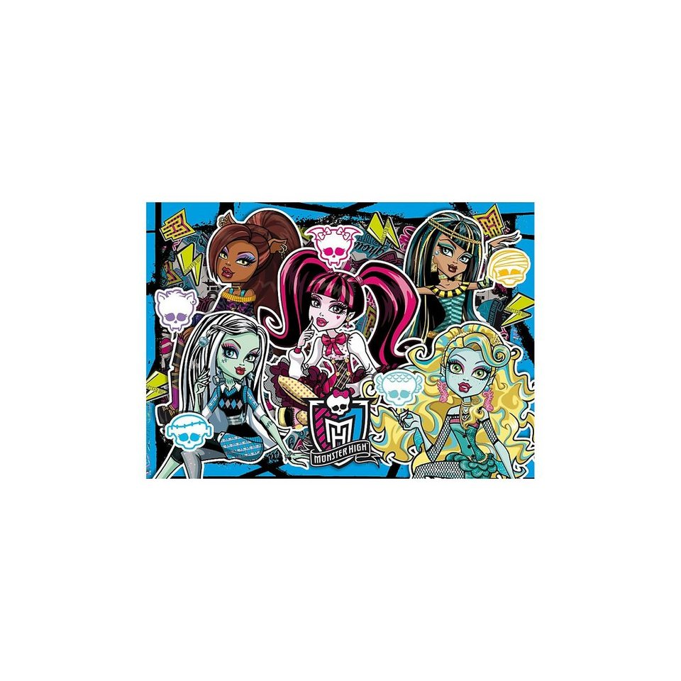monster high puzzle spiele