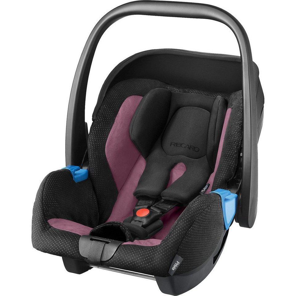 RECARO Babyschale Privia, Violet in schwarz/purple