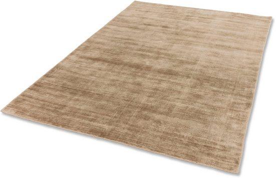 Teppich »Alessa«, SCHÖNER WOHNEN-Kollektion, rechteckig, Höhe 5 mm, Viskose, Wohnzimmer