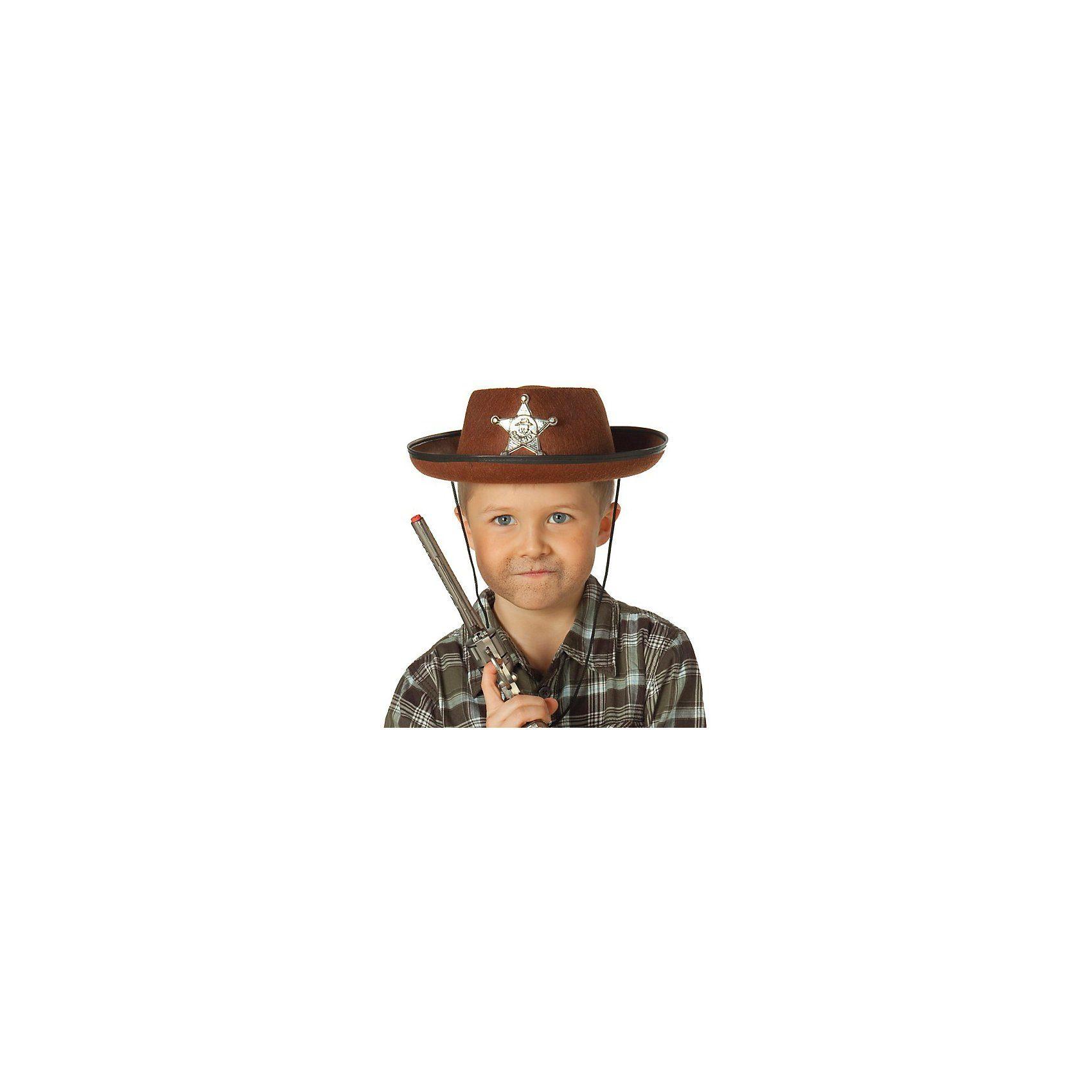 Rubie´s Cowboyhut braun
