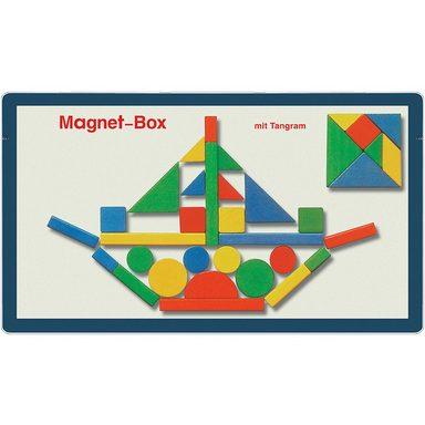 Magnetspiele Magnetbox Tangram