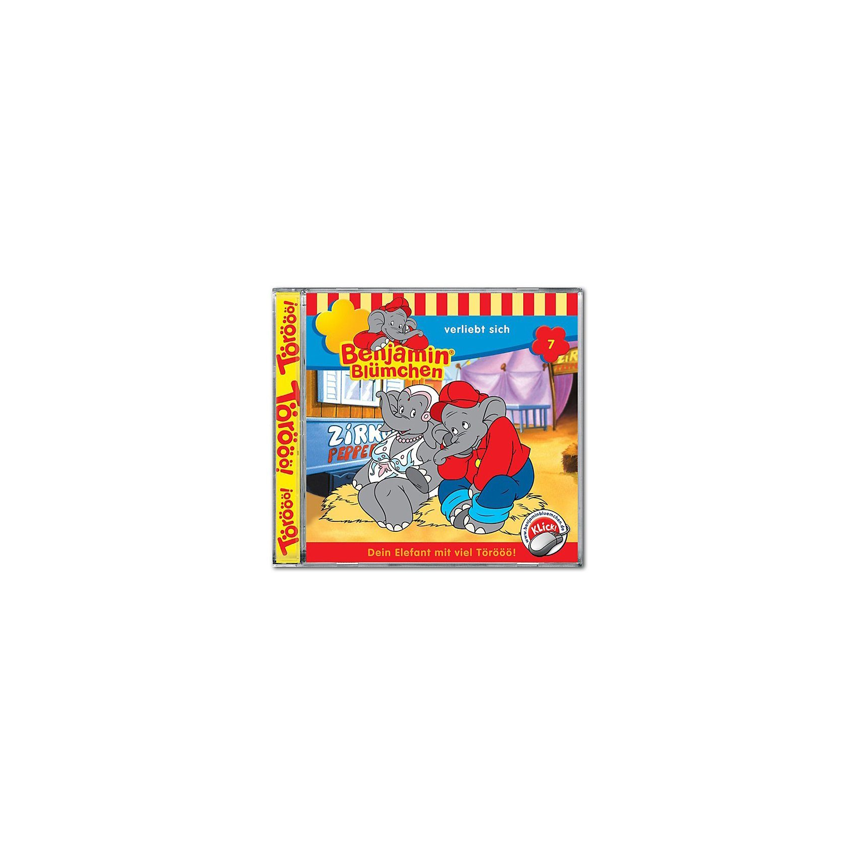 Kiddinx CD Benjamin Blümchen 07 - verliebt sich