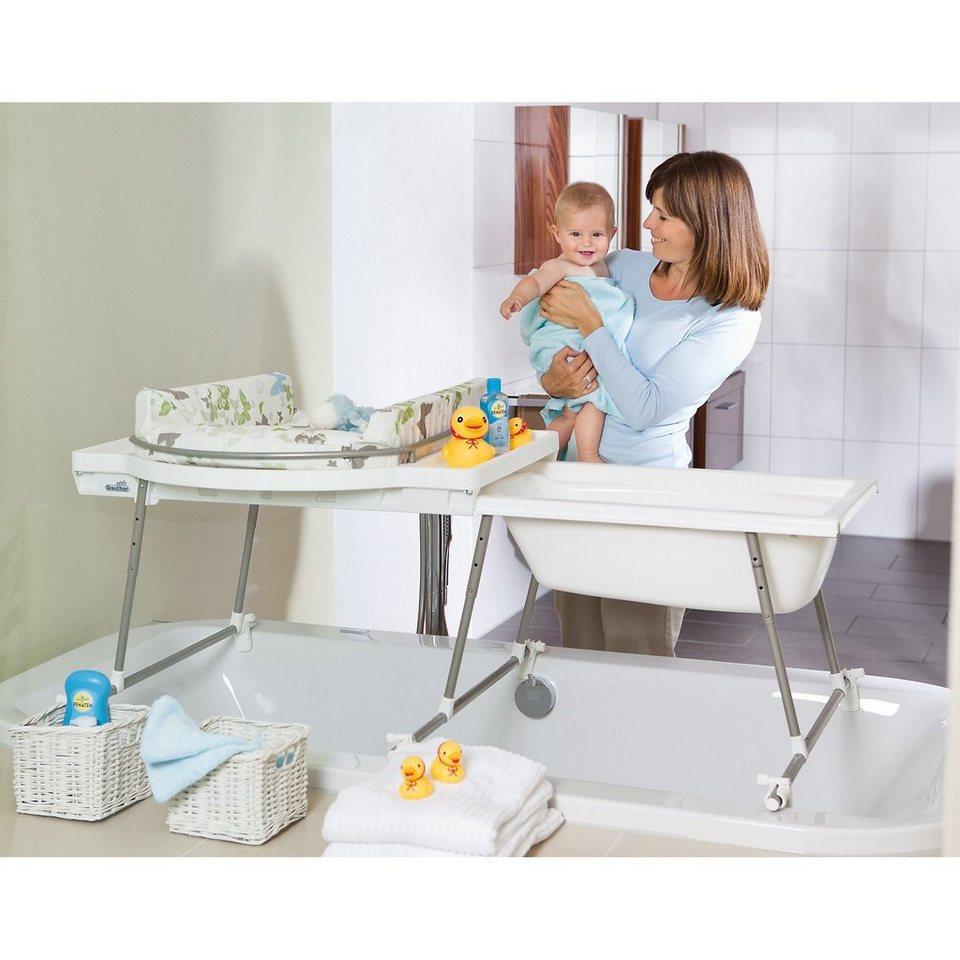 geuther bade wickelkombination aqualino mit badewanne. Black Bedroom Furniture Sets. Home Design Ideas