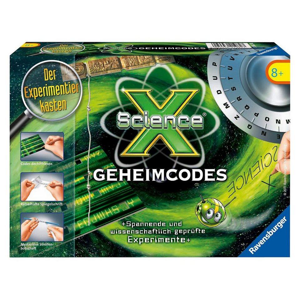 Ravensburger ScienceX - Geheimcodes