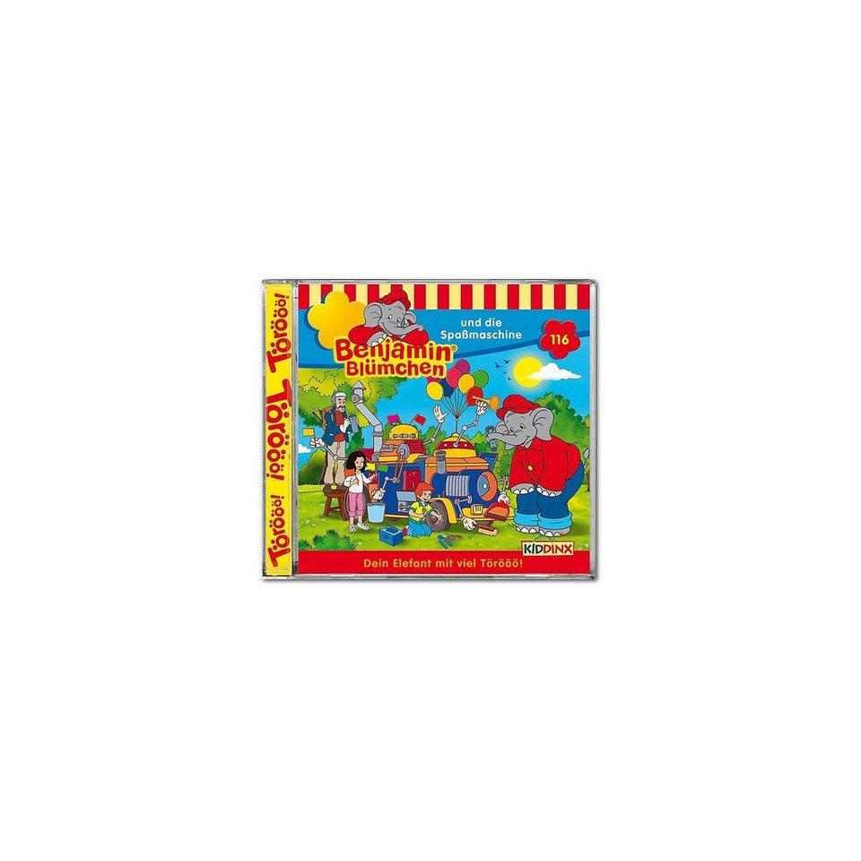 Kiddinx CD Benjamin Blümchen 116 - und die Spaßmaschine