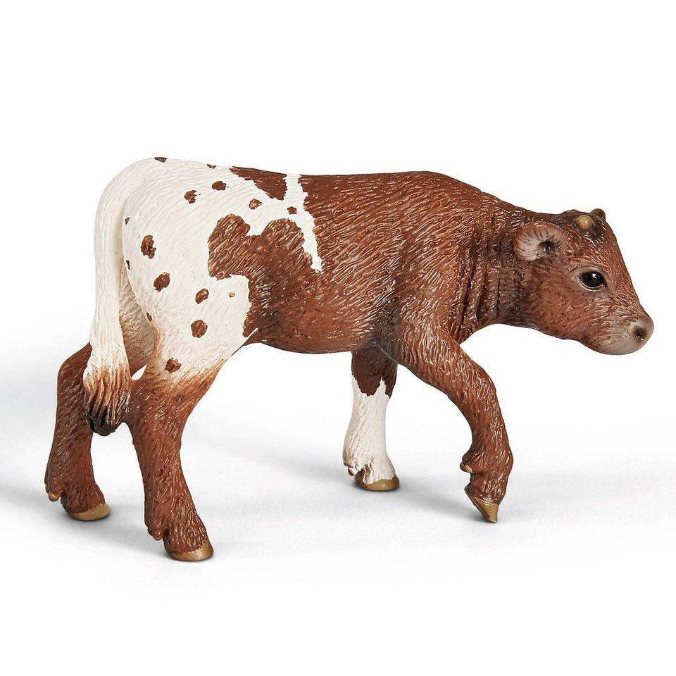 Schleich 13684 Farm World: Texas Longhorn Kalb