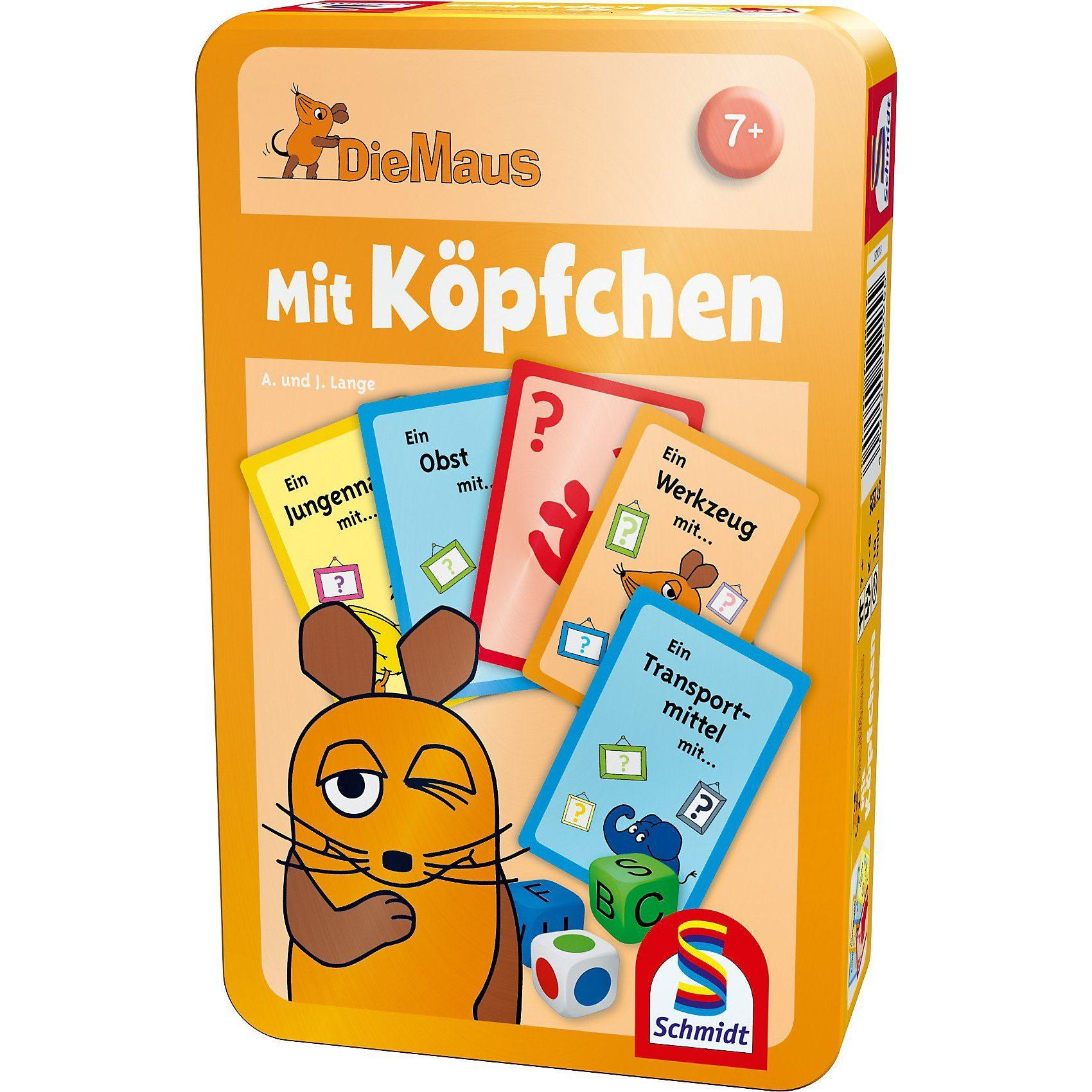 Schmidt Spiele Mitbringspiel Die Maus, Mit Köpfchen
