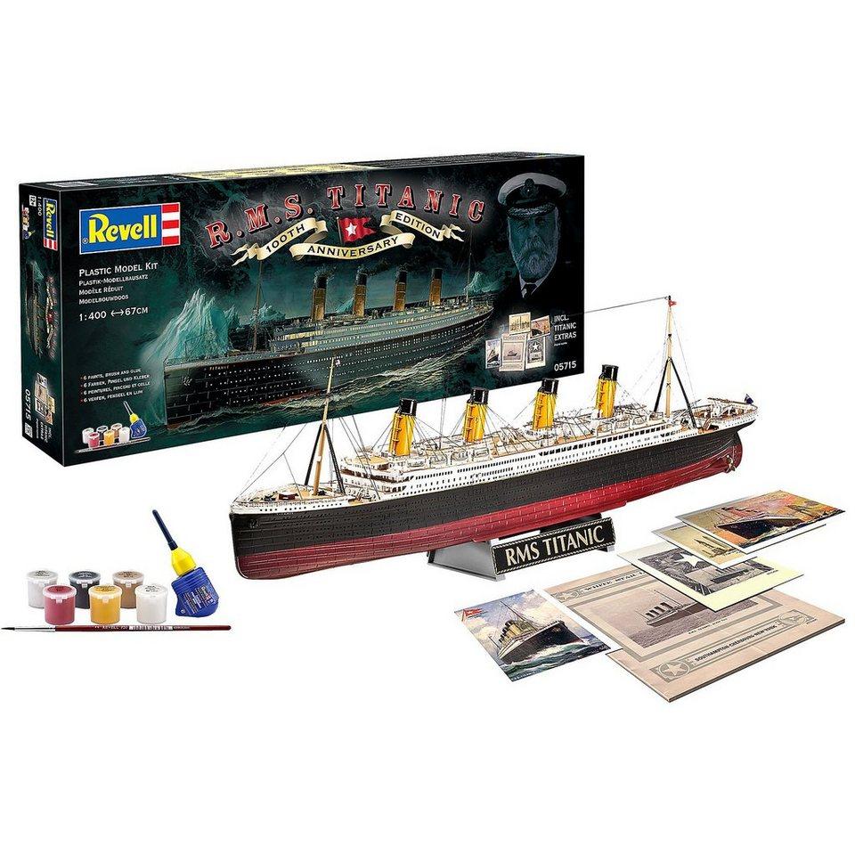 """Revell Geschenkset Schiffsbausatz """"100 Jahre Titanic"""" im Maßstab 1:"""