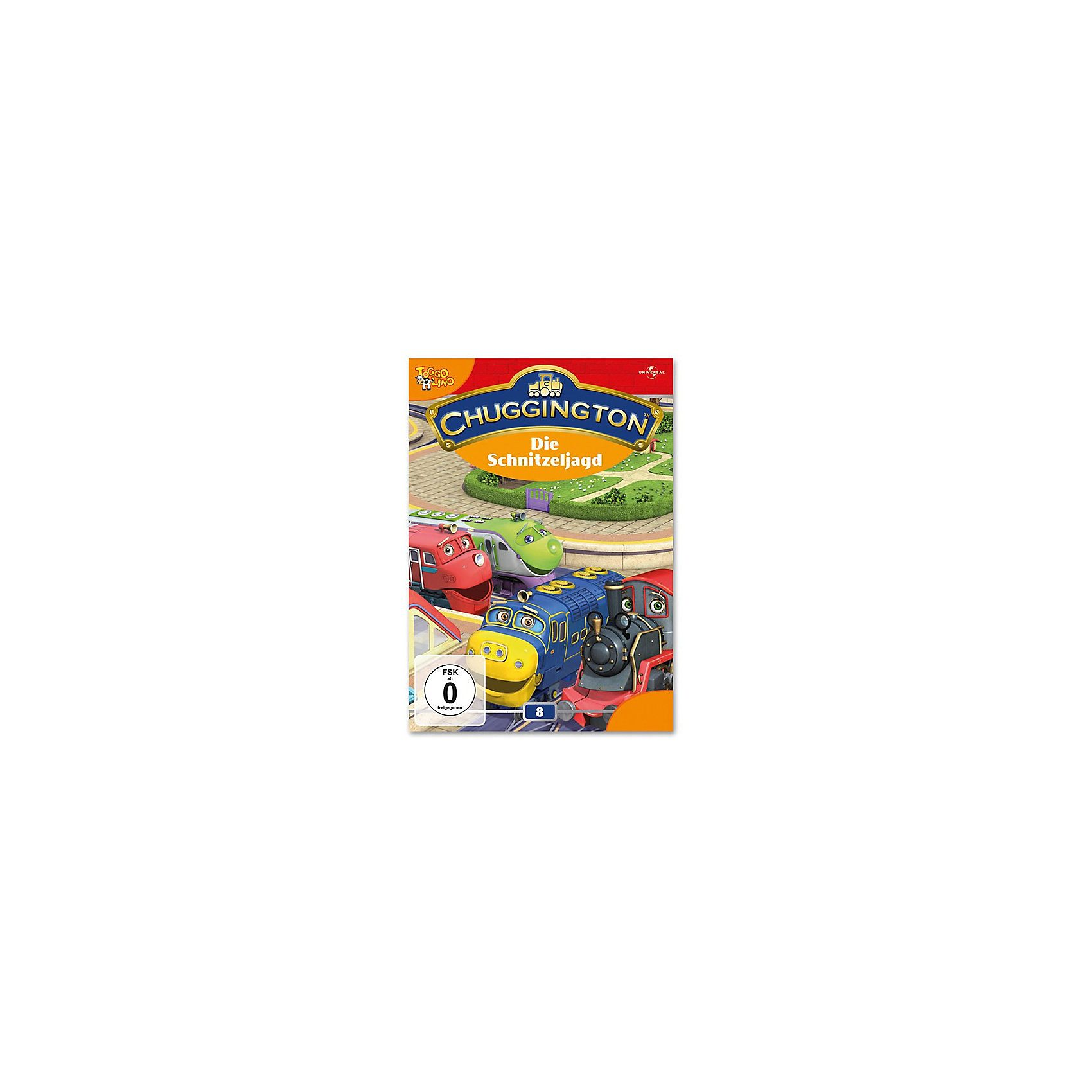 Universal DVD Chuggington 08