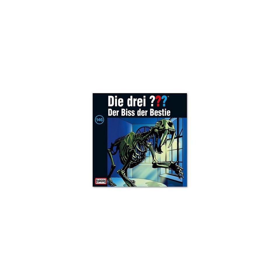 SONY BMG MUSIC CD Die Drei ??? 146 -Der Biss der Bestie