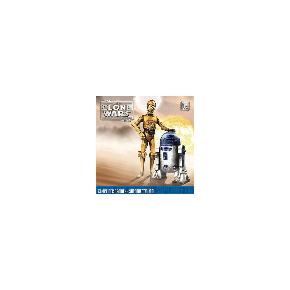 Universal Music GmbH CD Star Wars - The Clone Wars 04 - Kampf der Droiden
