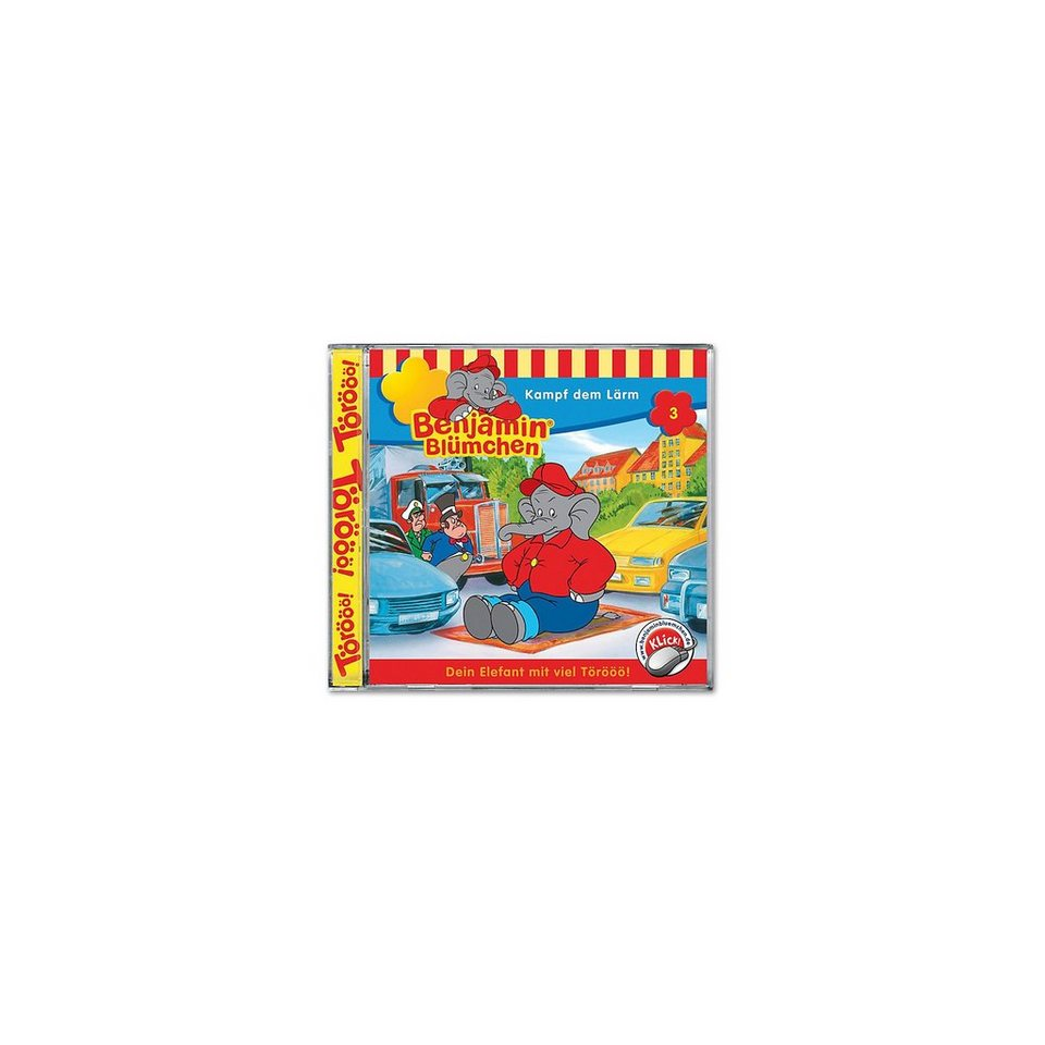 Kiddinx CD Benjamin Blümchen 03 - Kampf dem Lärm