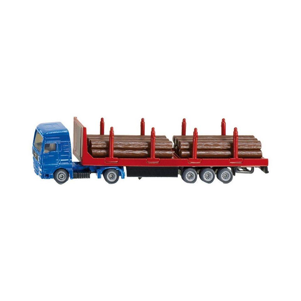SIKU 1659 Holz Transport LKW