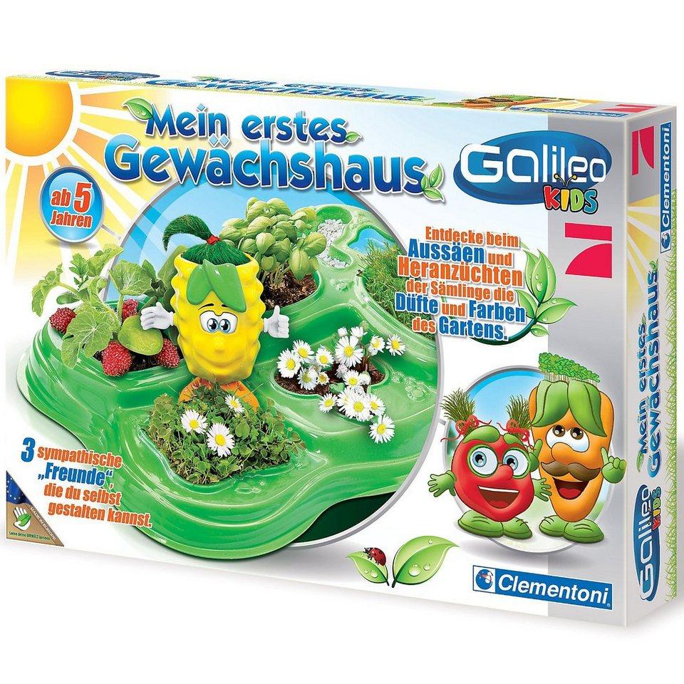 Clementoni Galileo Kids - Mein erstes Gewächshaus