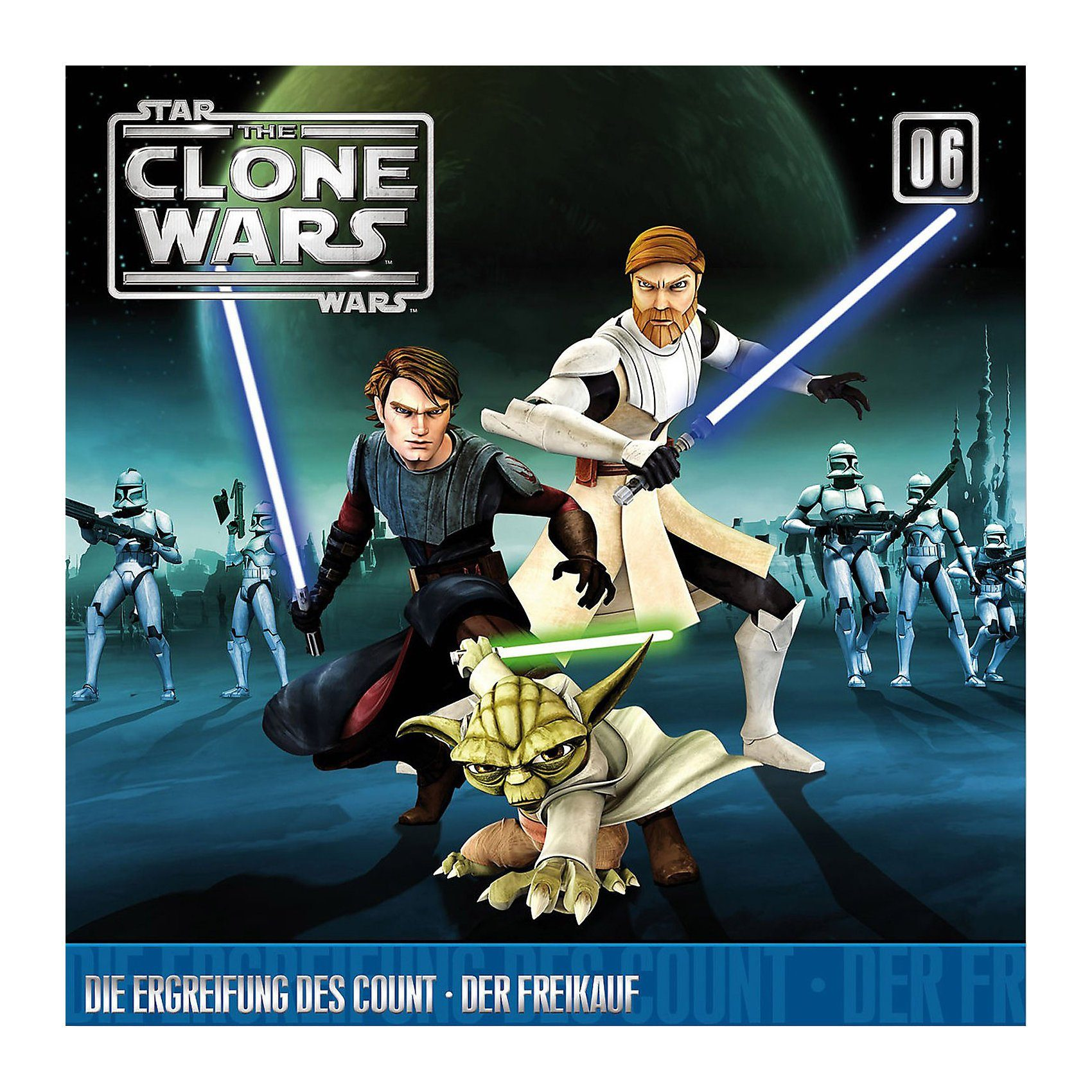 Universal CD Star Wars - The Clone Wars 06 - Die Ergreifung des Count