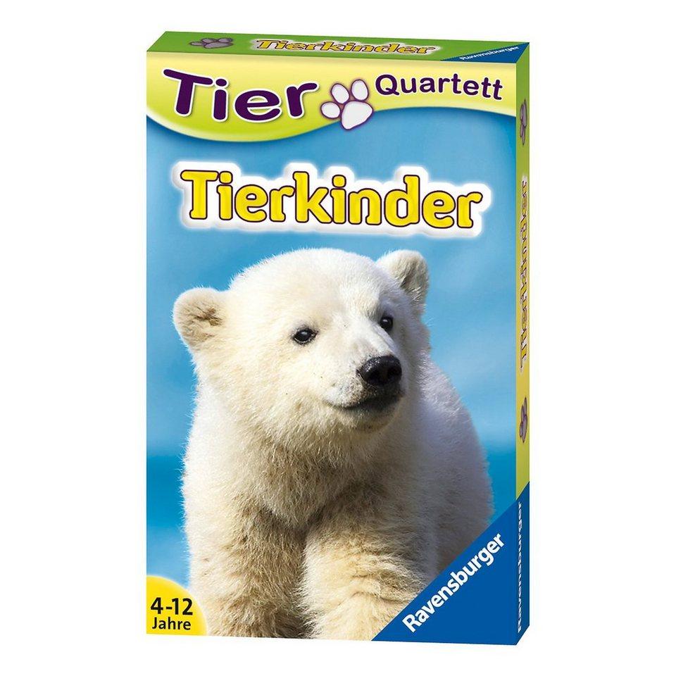 Ravensburger Tier-Quartette: Tierkinder