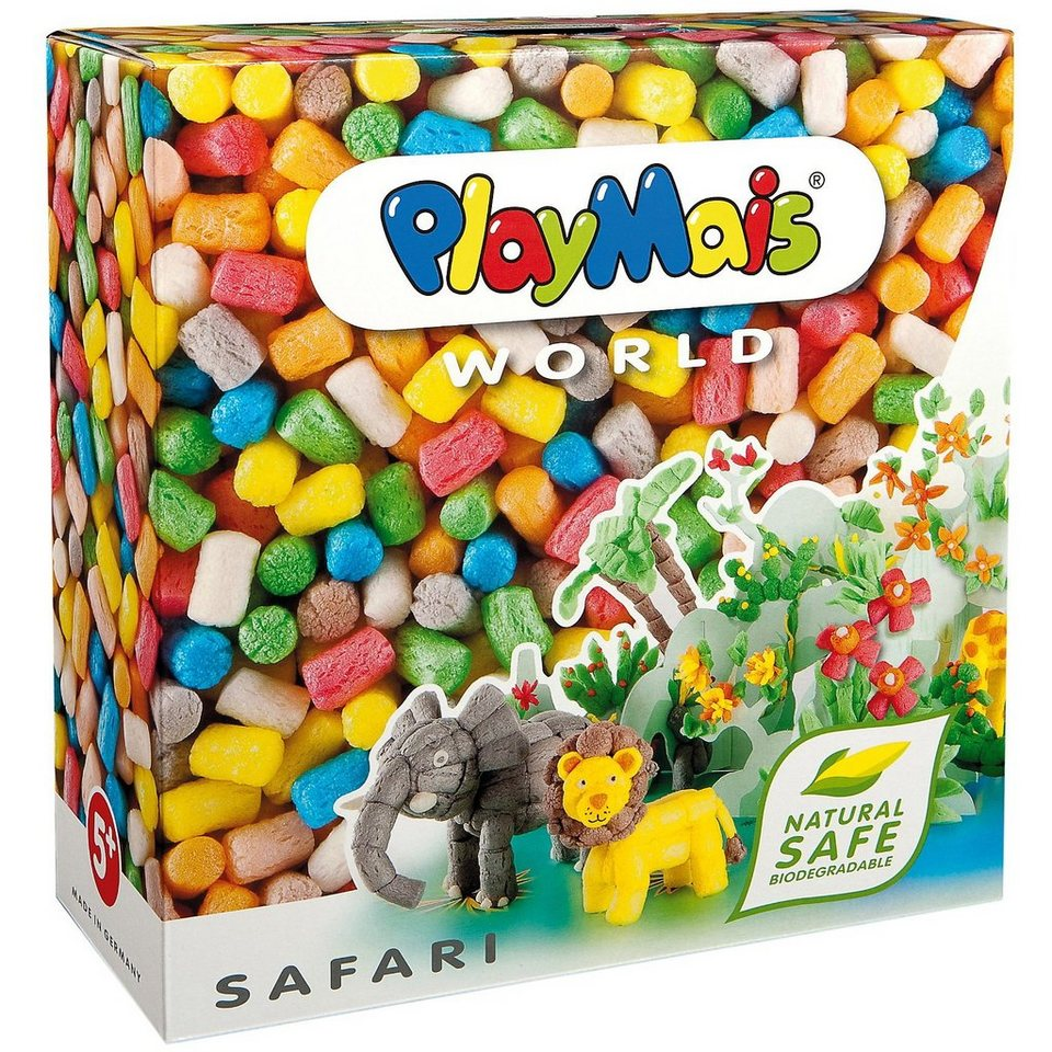 PlayMais WORLD Safari, 1000 Maisbausteine