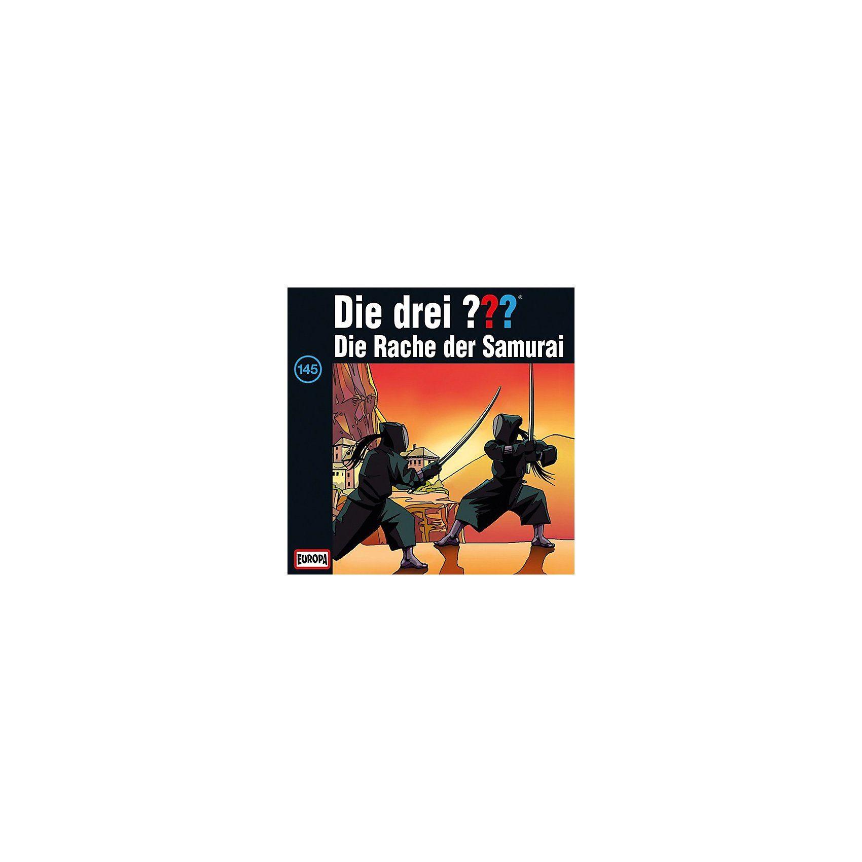 SONY BMG MUSIC CD Die Drei ??? 145 - Die Rache der Samurai