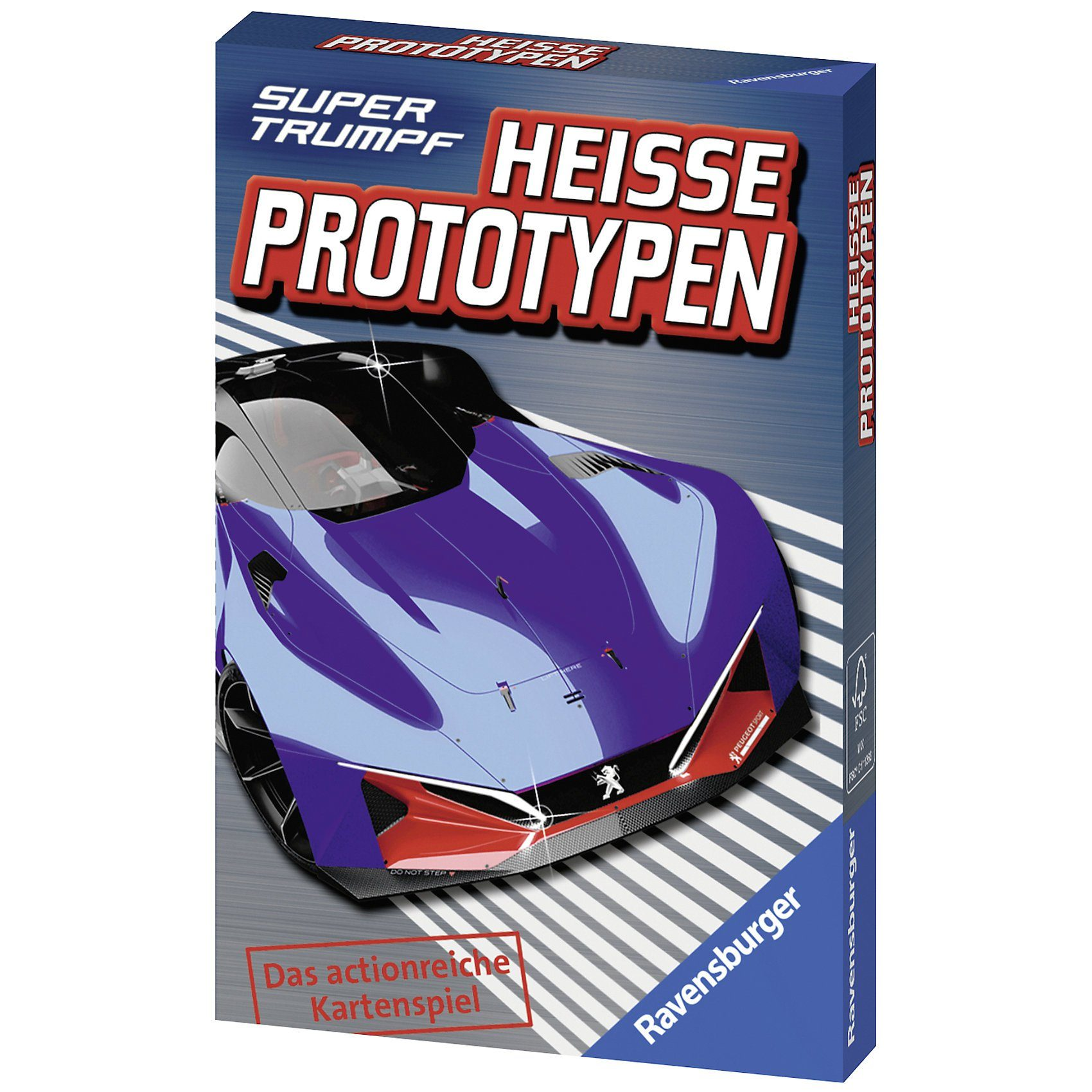 Ravensburger Supertrumpf: Heiße Prototypen