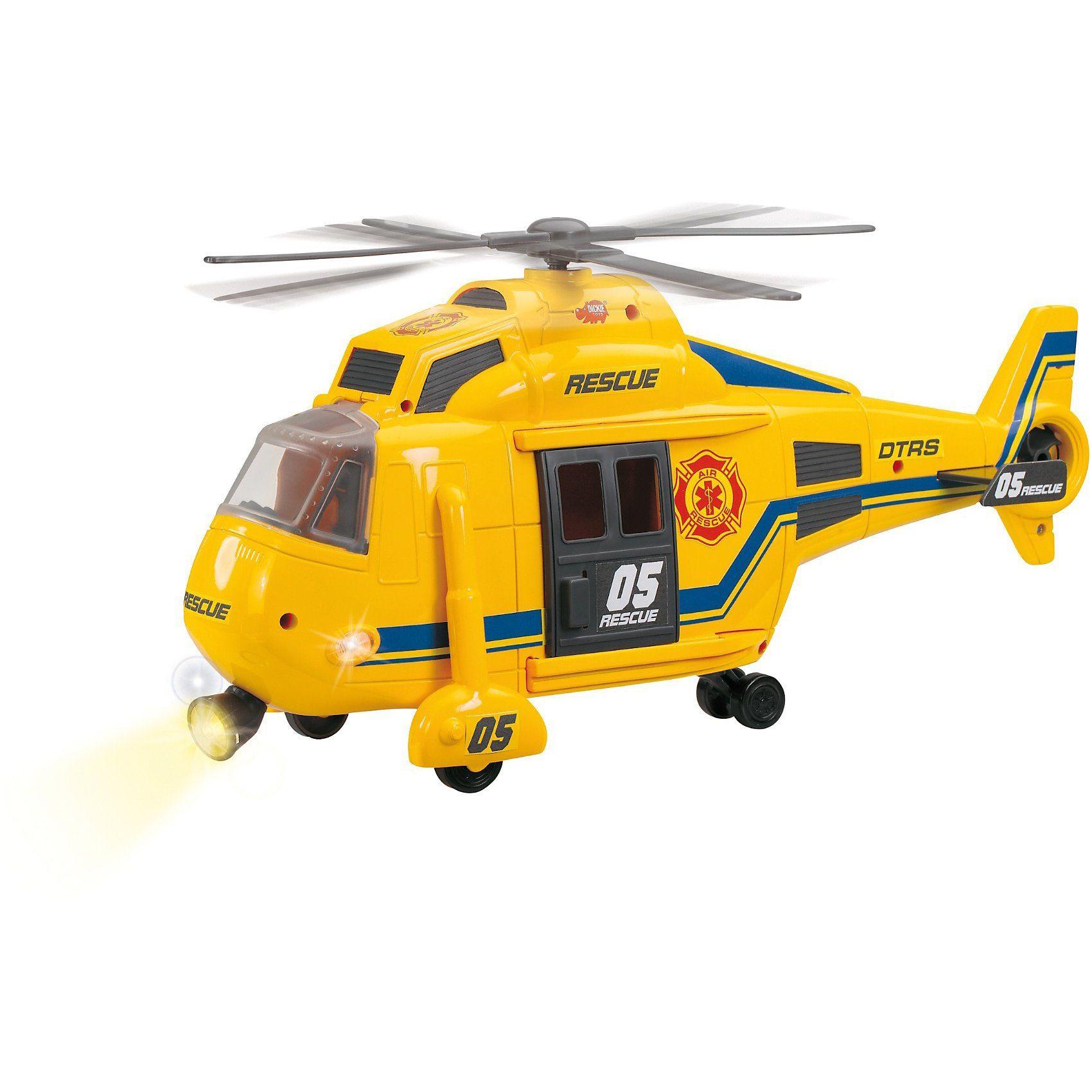 Dickie Toys Helikopter mit Licht und Sound