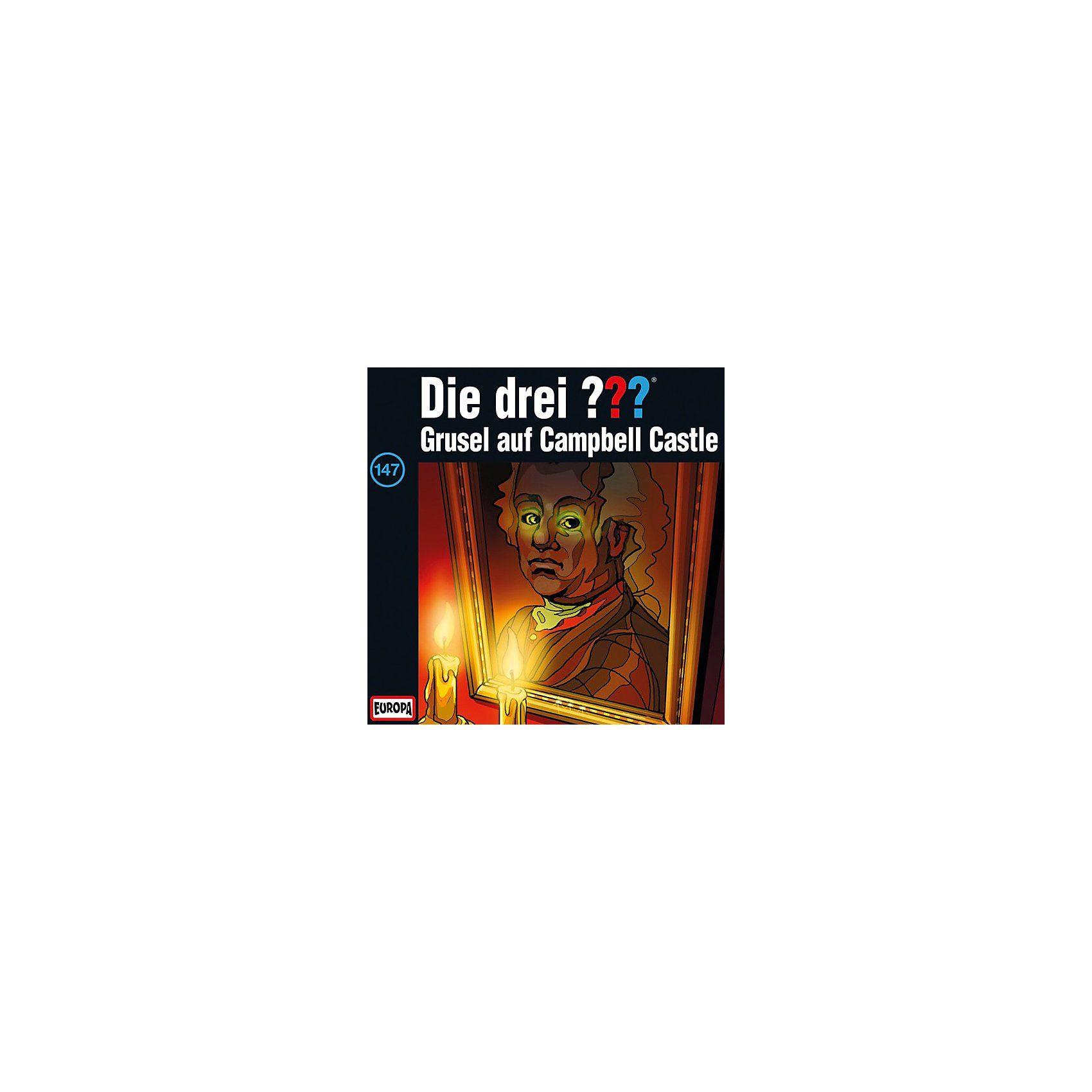 Sony CD Die Drei ??? 147 - Grusel auf Campbell-Castle