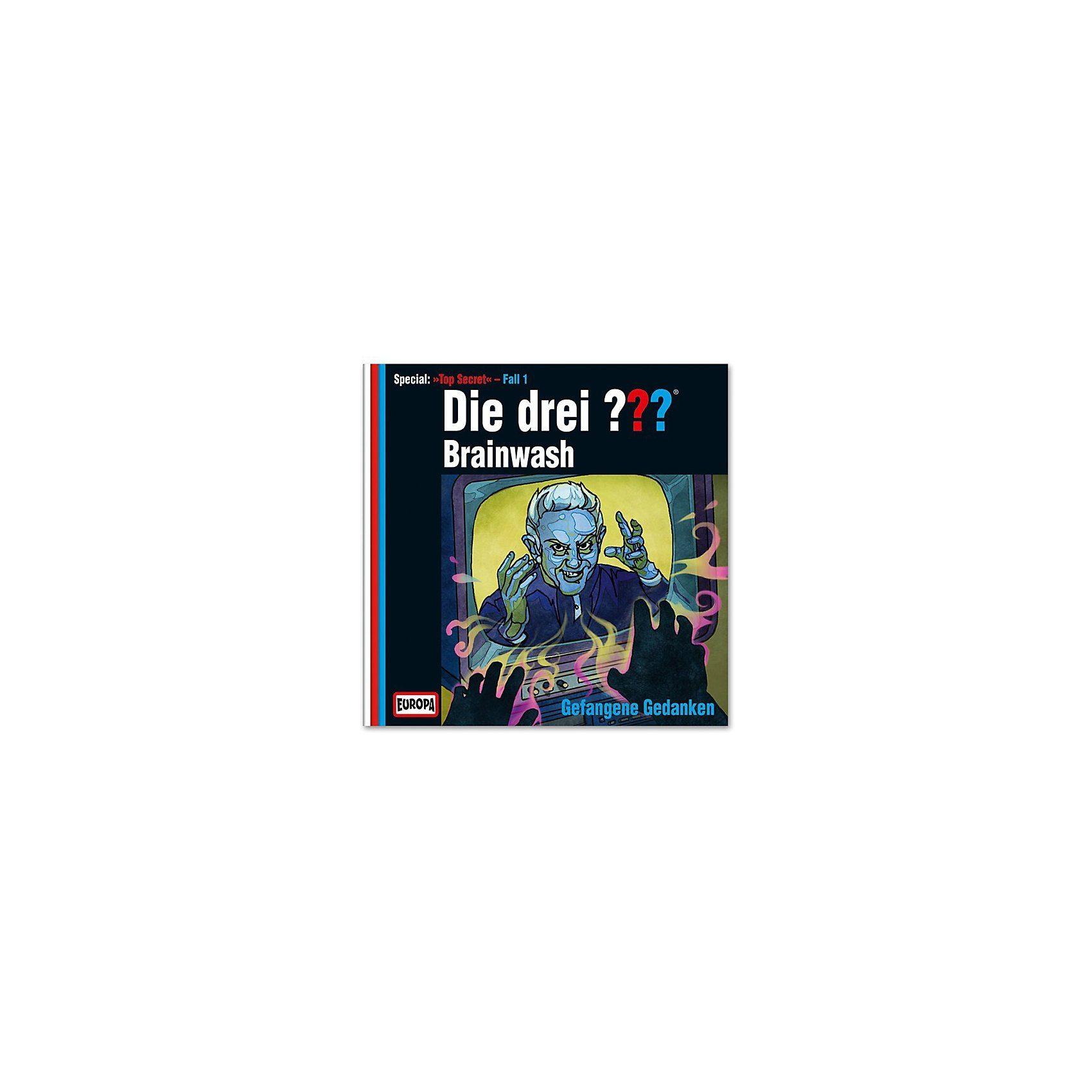 SONY BMG MUSIC CD Die Drei ??? Brainwash - Gefangene Gedanken