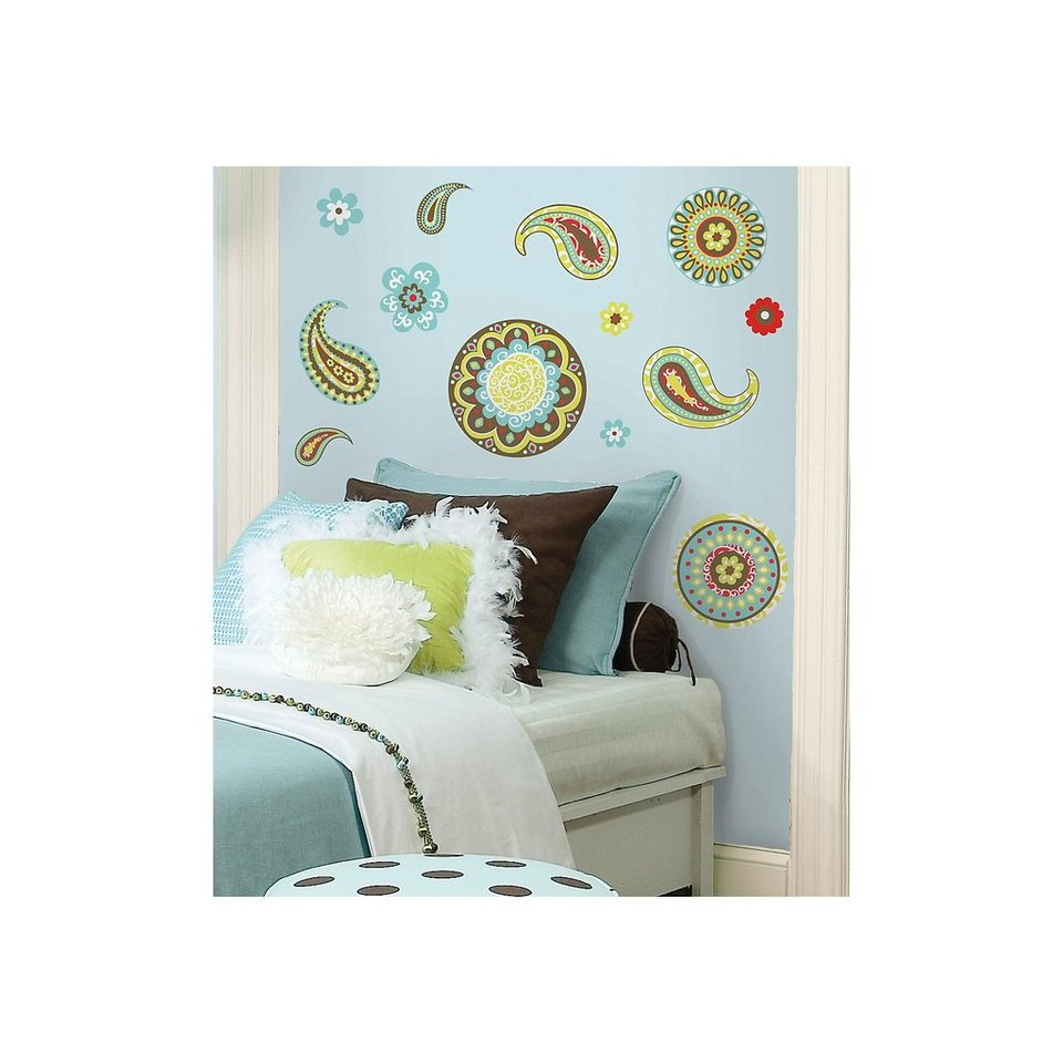 roommates wandsticker paisley 40 tlg kaufen otto. Black Bedroom Furniture Sets. Home Design Ideas