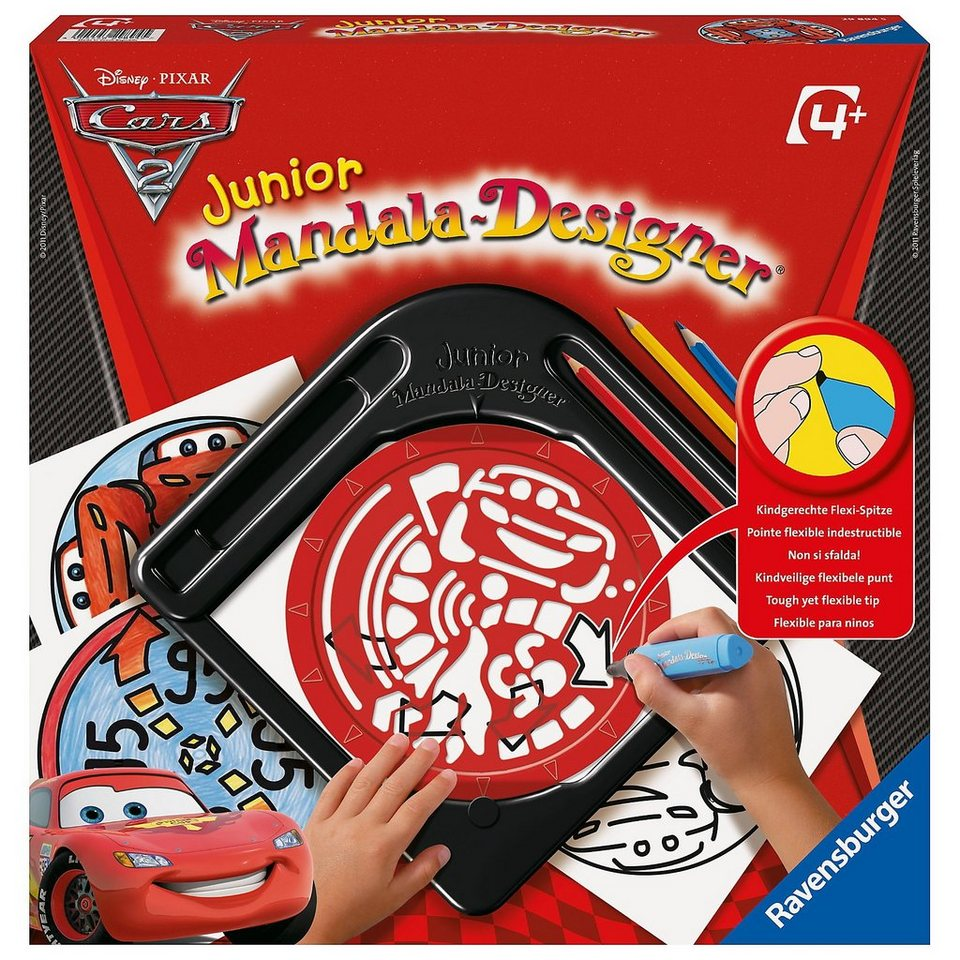 Ravensburger Disney Cars 2 - Junior Mandala-Designer®