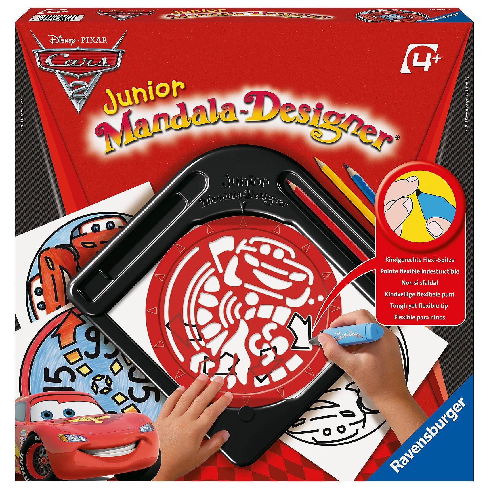 Ravensburger Disney Cars 2 - Junior Mandala-Designer®