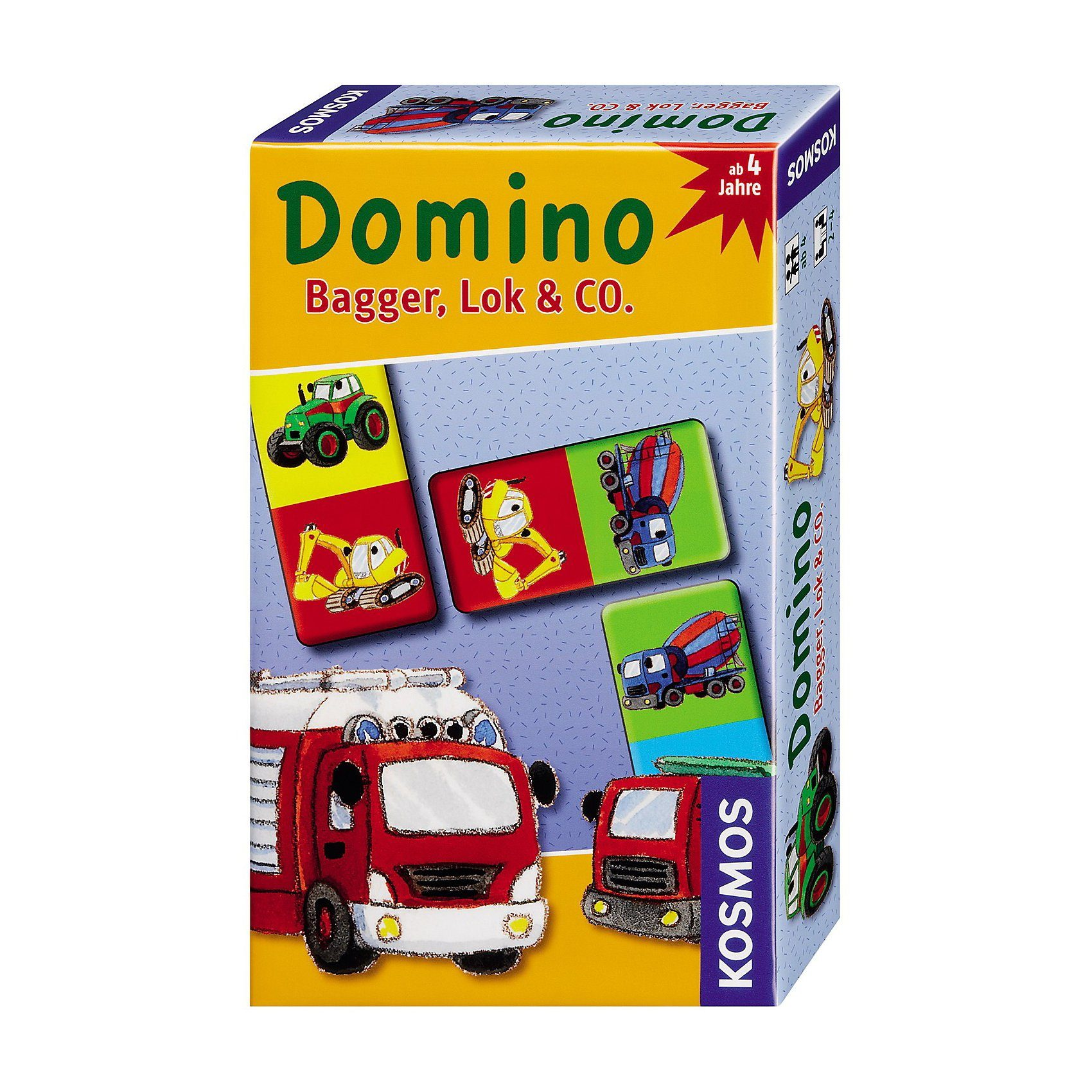 Kosmos Domino Bagger, Lok & Co.