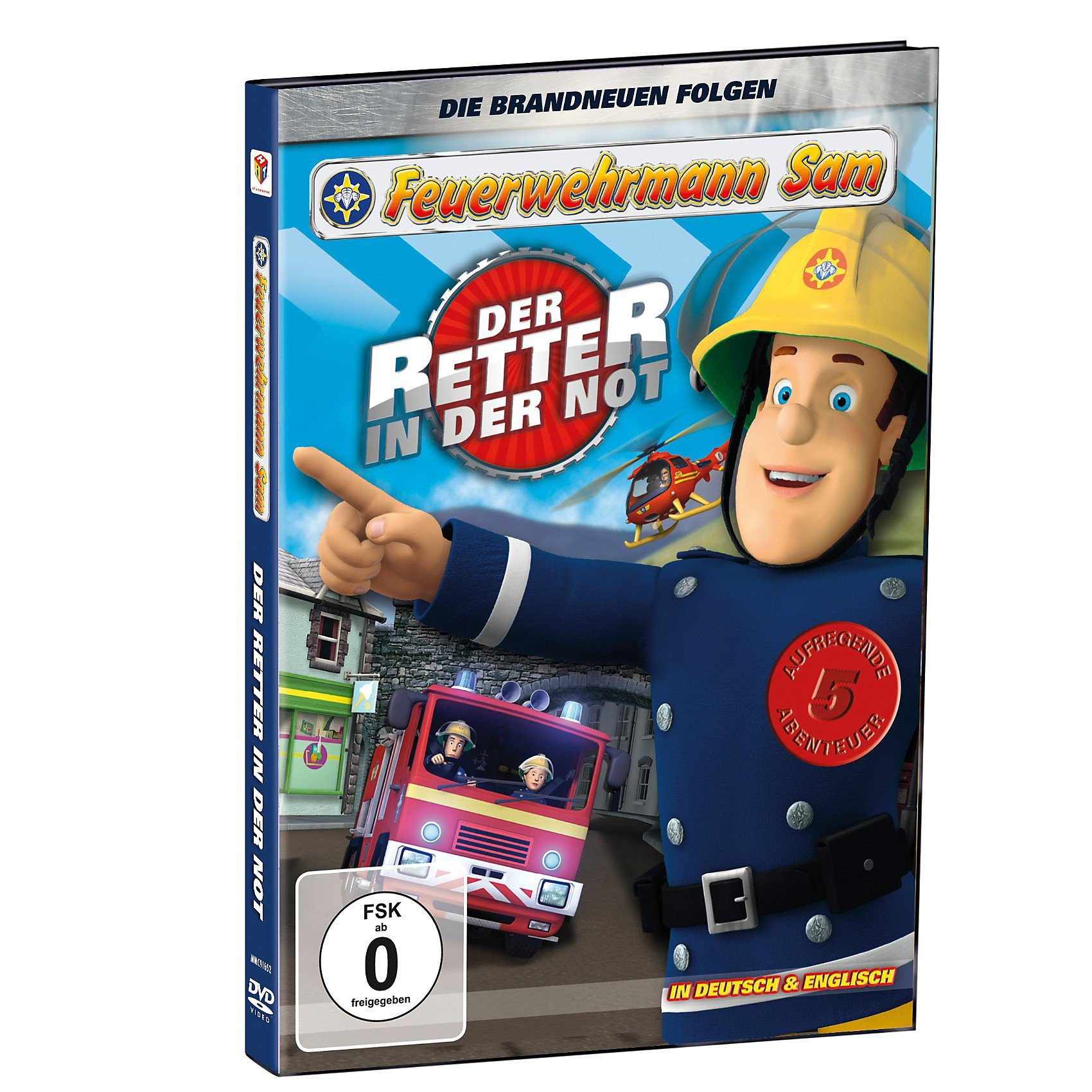 Just Bridge Entertainment DVD Feuerwehrmann Sam - Der Retter in der Not