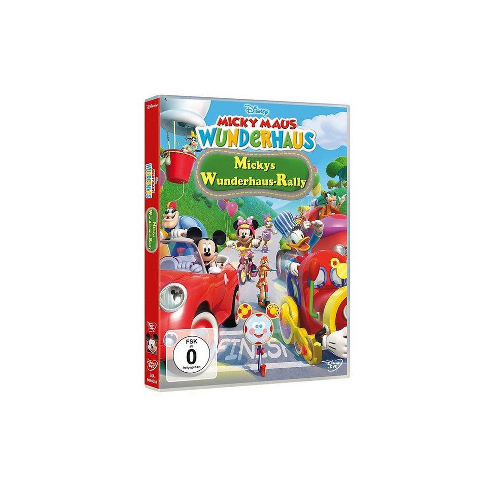 Disney DVD DVD Micky Maus Wunderhaus: Mickys Wunderhaus-Rally