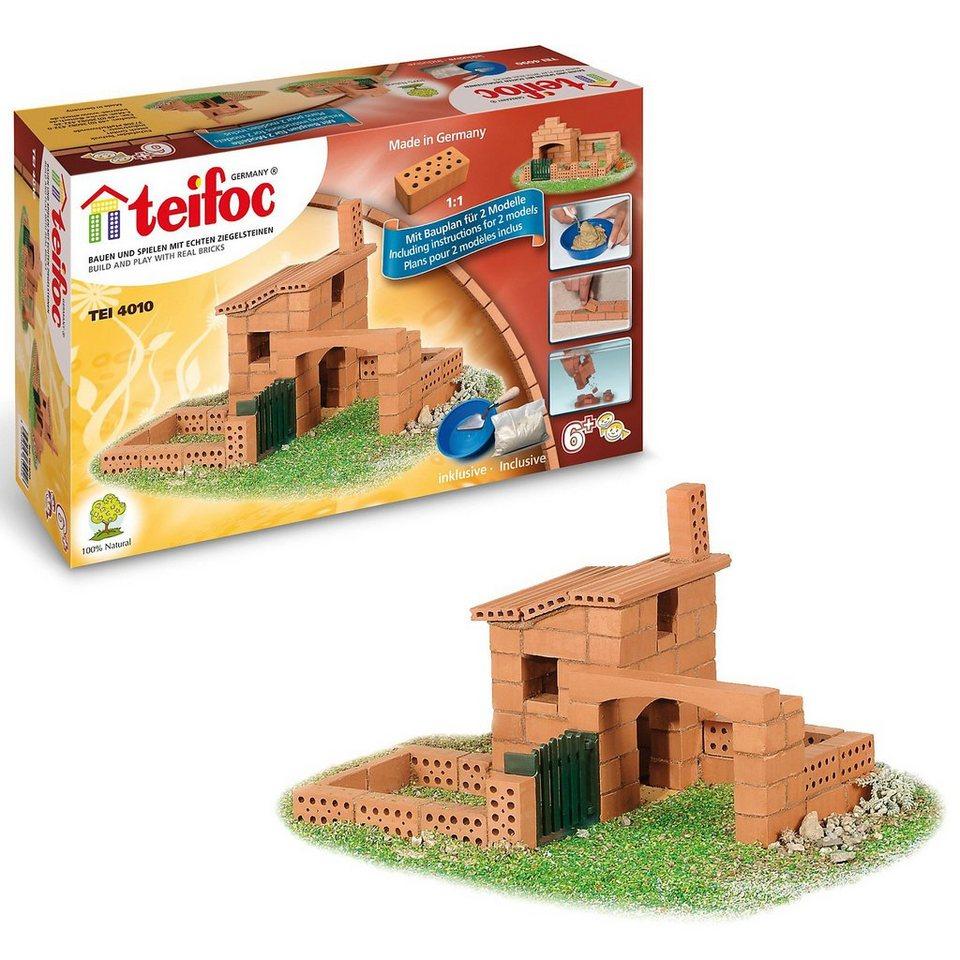 "teifoc TEI 4010 Steinbaukasten - ""Kleines Haus"""
