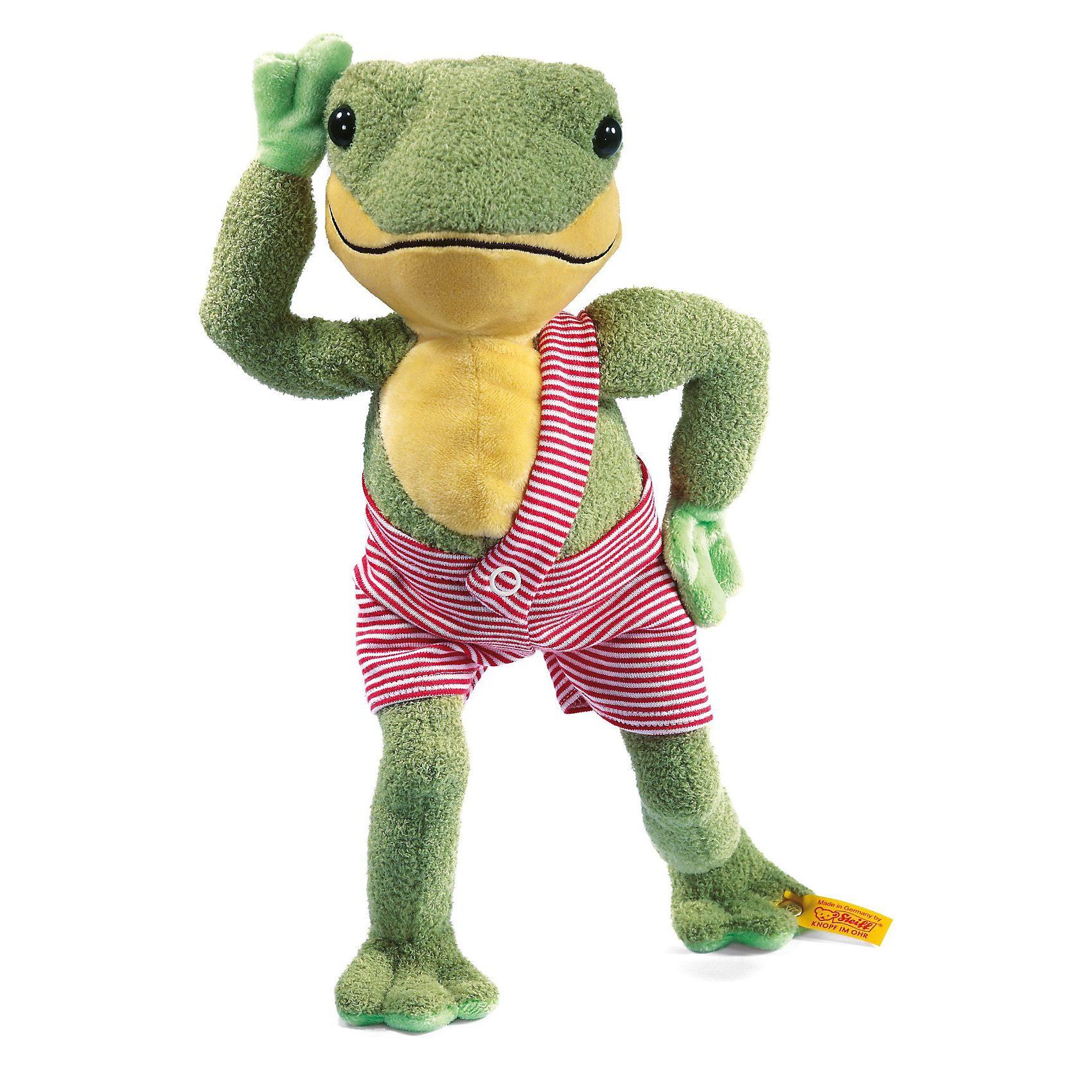 Steiff Hippi Frosch, 28 cm