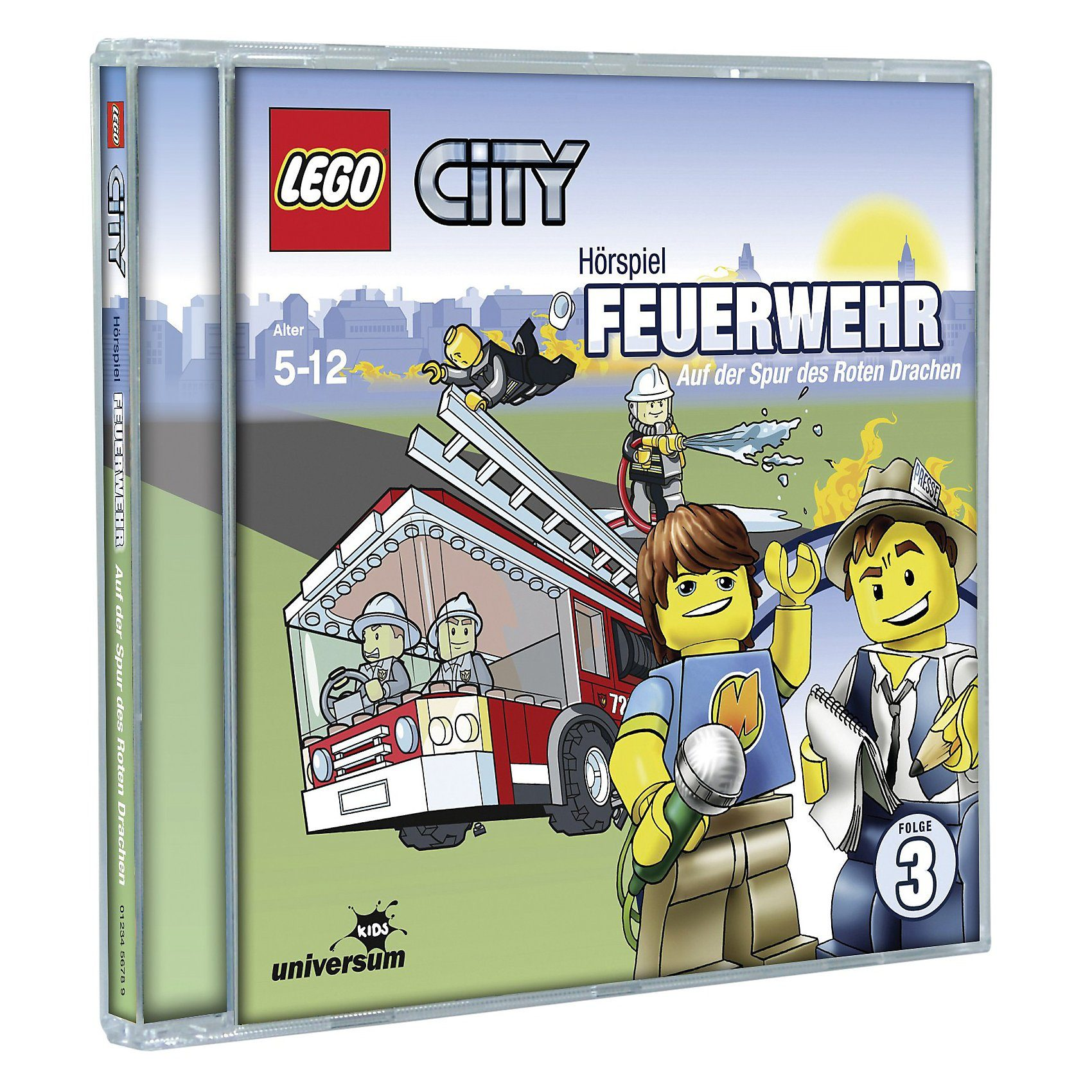 LEGO CD City 03 - Feuerwehr: Auf der Spur des Roten Drachen