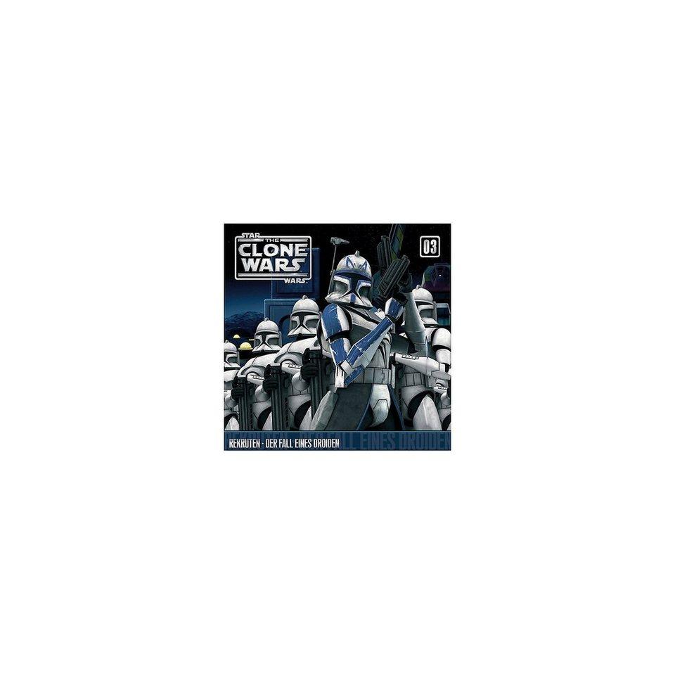 Universal Music GmbH CD Star Wars - The Clone Wars 03 - Rekruten/Der Fall eines D