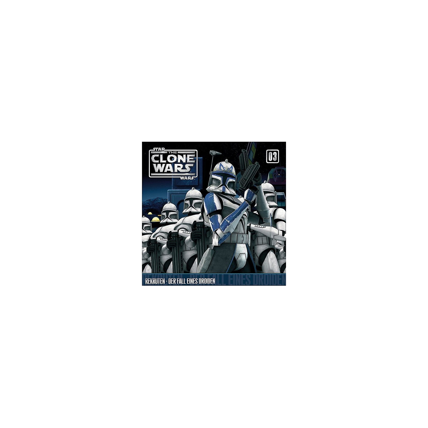 Universal CD Star Wars - The Clone Wars 03 - Rekruten/Der Fall eines D