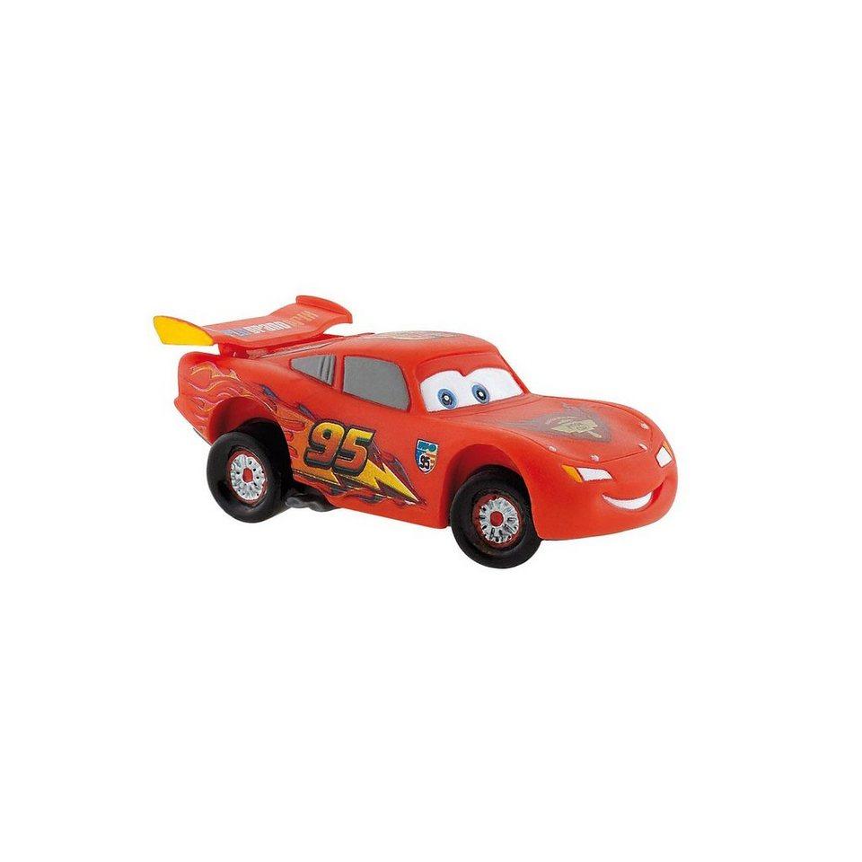BULLYLAND Comicwelt Walt Disney CARS 2 - Spielfigur Lightning McQueen