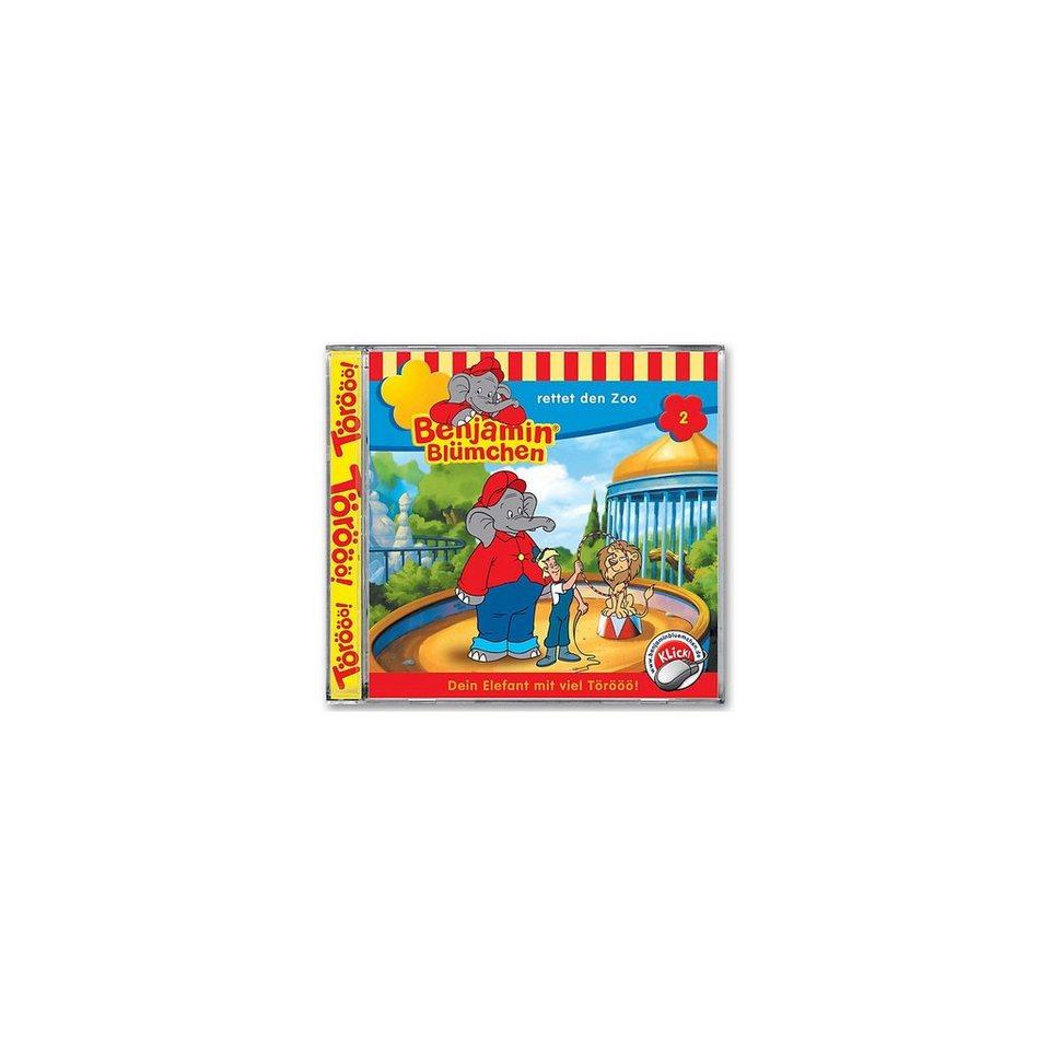 Kiddinx CD Benjamin Blümchen 02 - rettet den Zoo