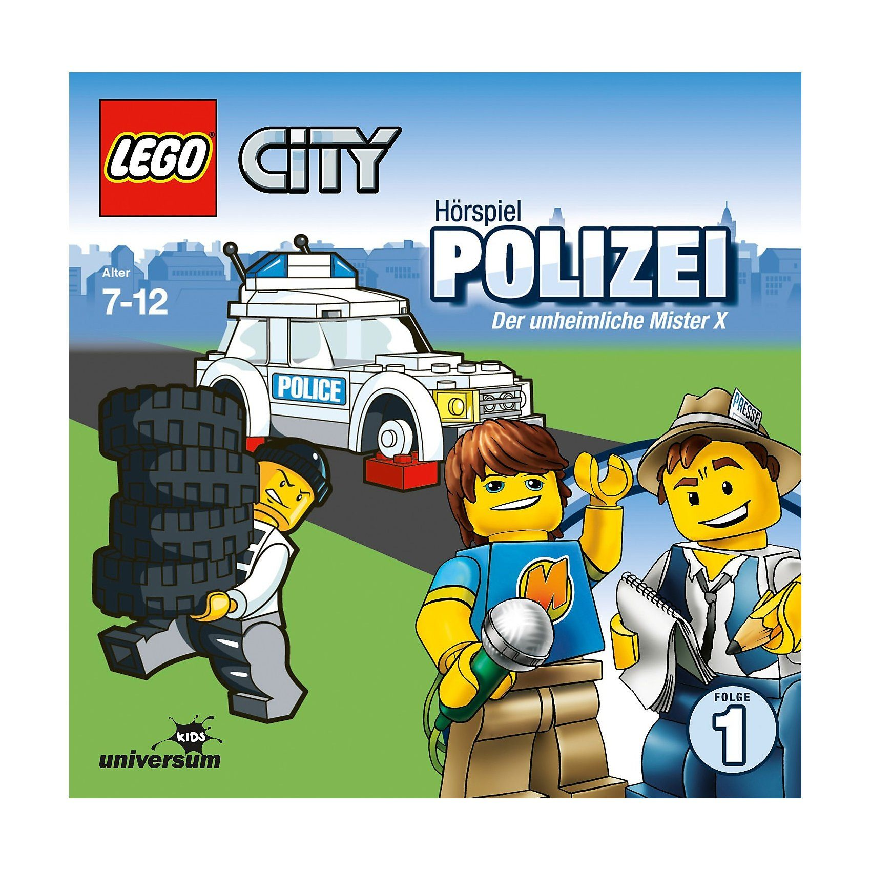 LEGO CD City 01 - Polizei: Der unheimliche Mister X