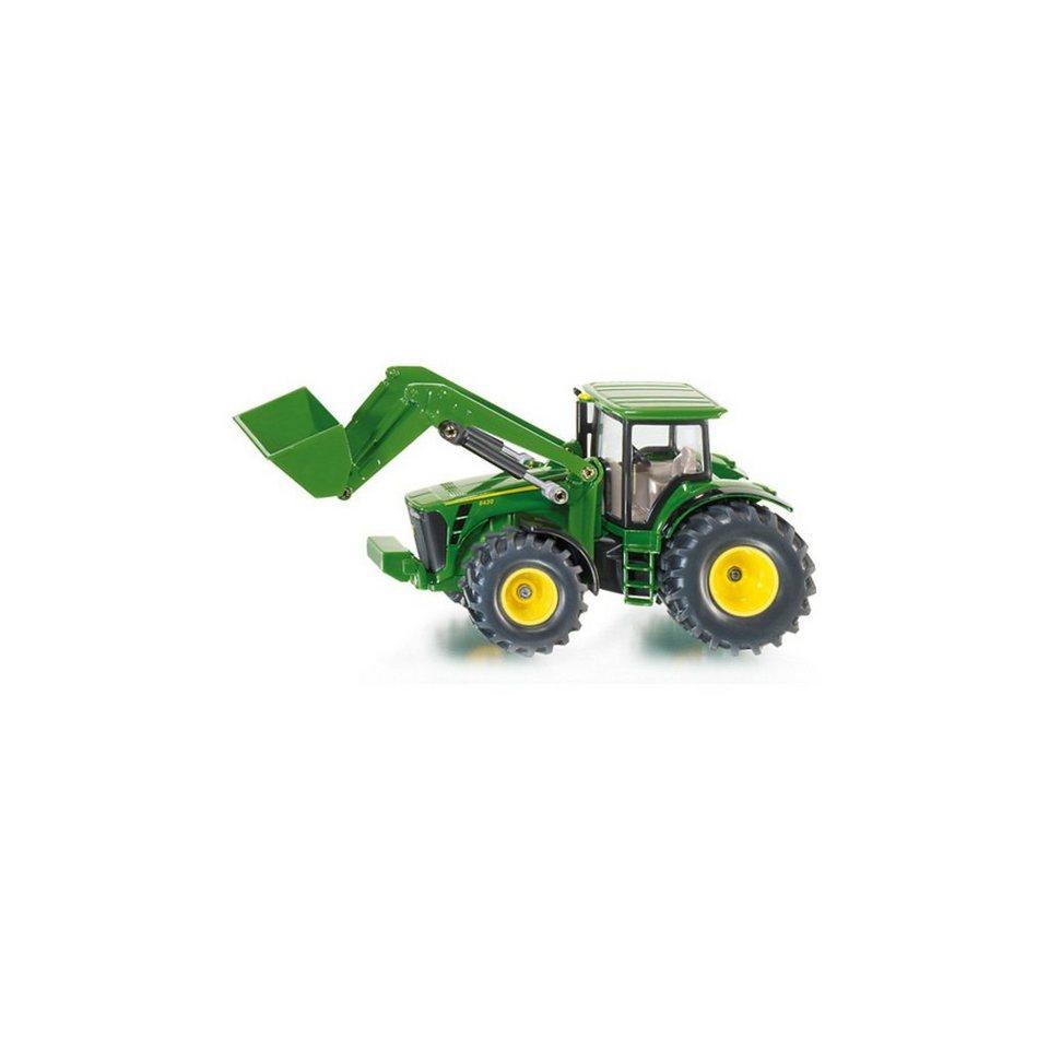 SIKU 1982 John Deere Traktor m. Frontlader 1:50