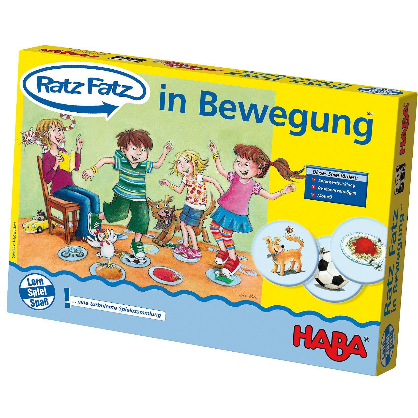 Haba Ratz-Fatz in Bewegung