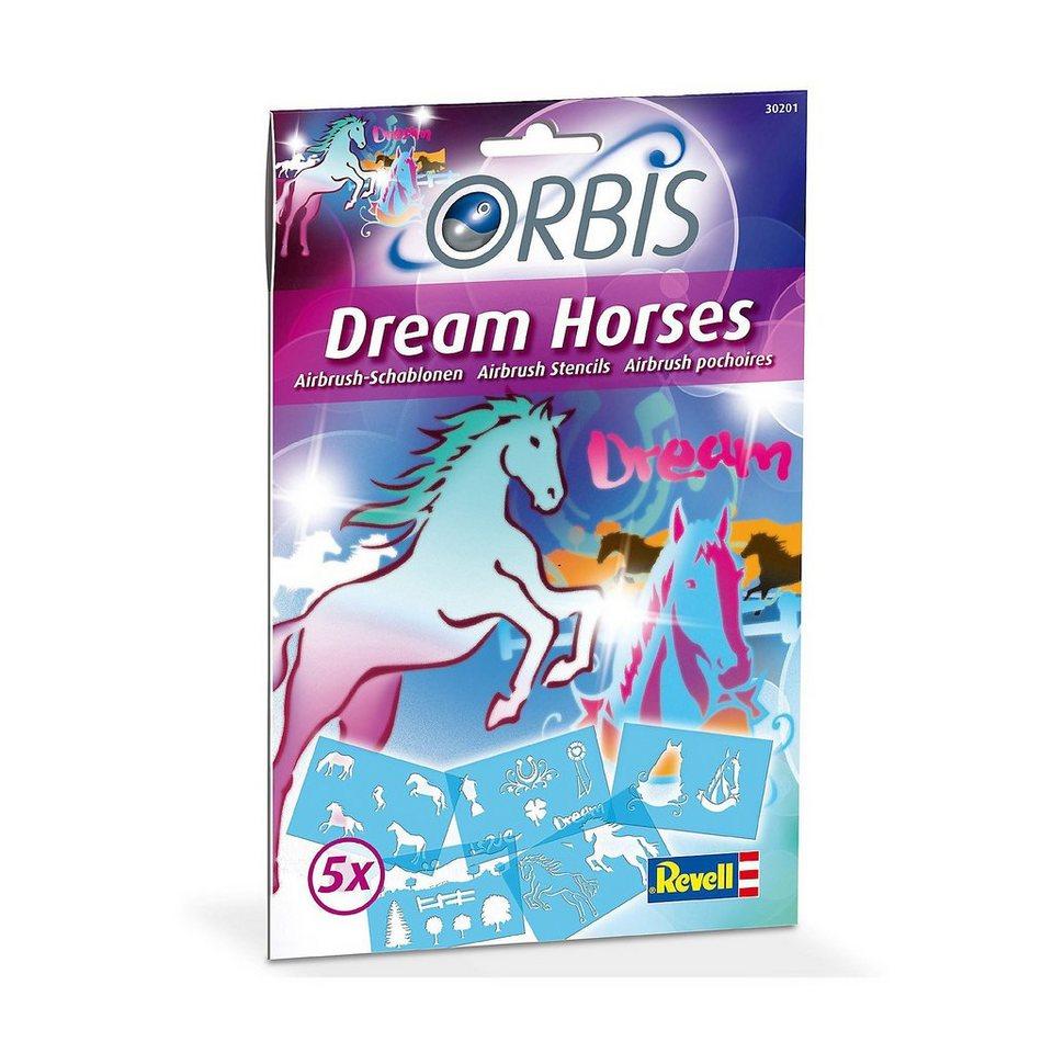 revell orbis schablonen set dream horses kaufen otto. Black Bedroom Furniture Sets. Home Design Ideas